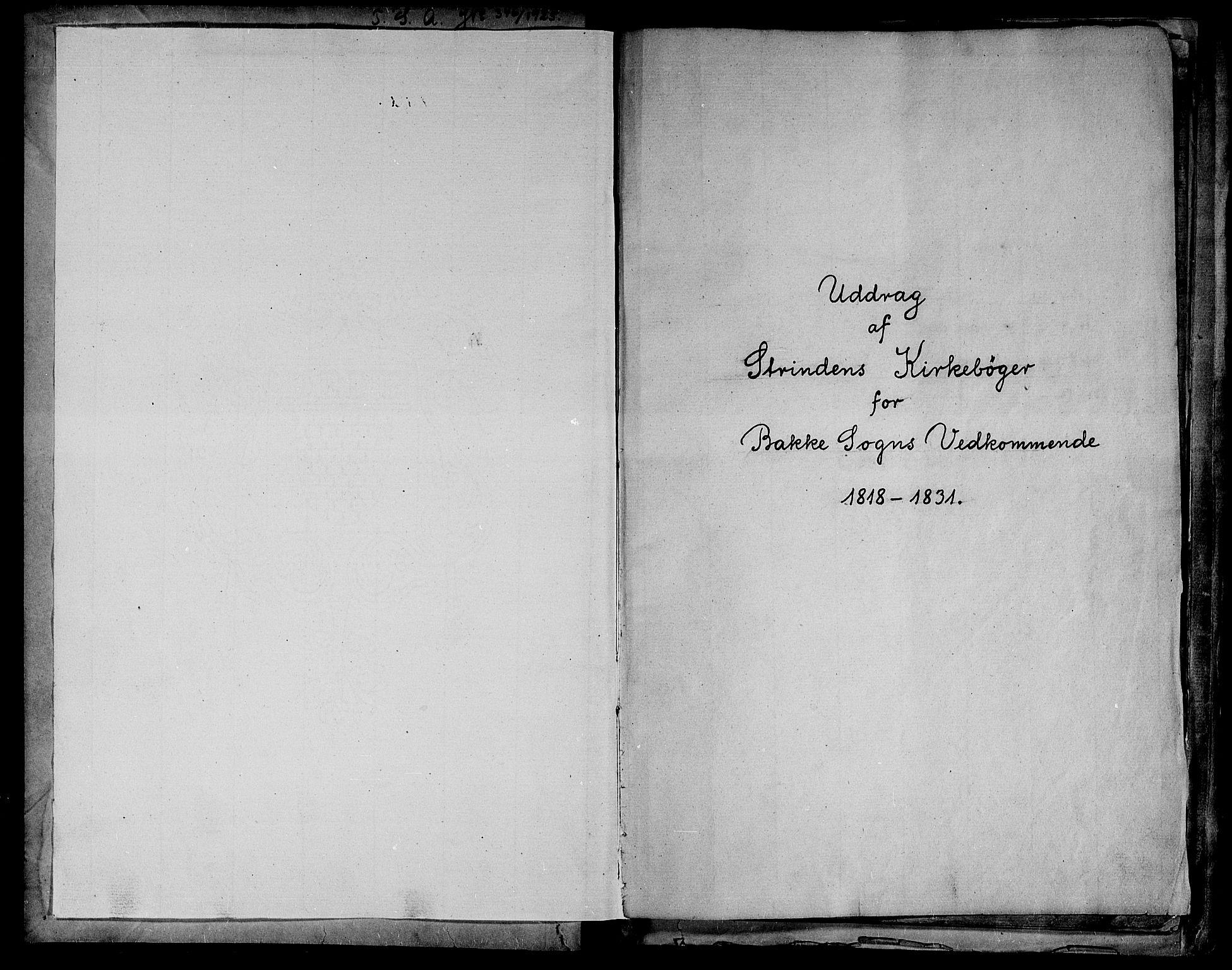 SAT, Ministerialprotokoller, klokkerbøker og fødselsregistre - Sør-Trøndelag, 604/L0182: Ministerialbok nr. 604A03, 1818-1850