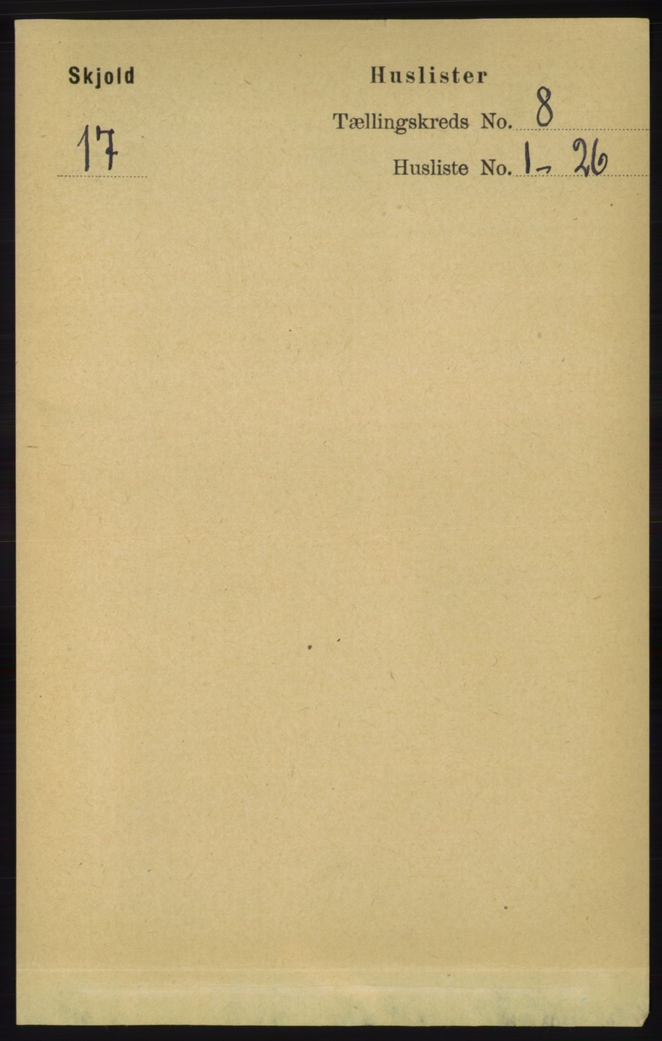 RA, Folketelling 1891 for 1154 Skjold herred, 1891, s. 1567