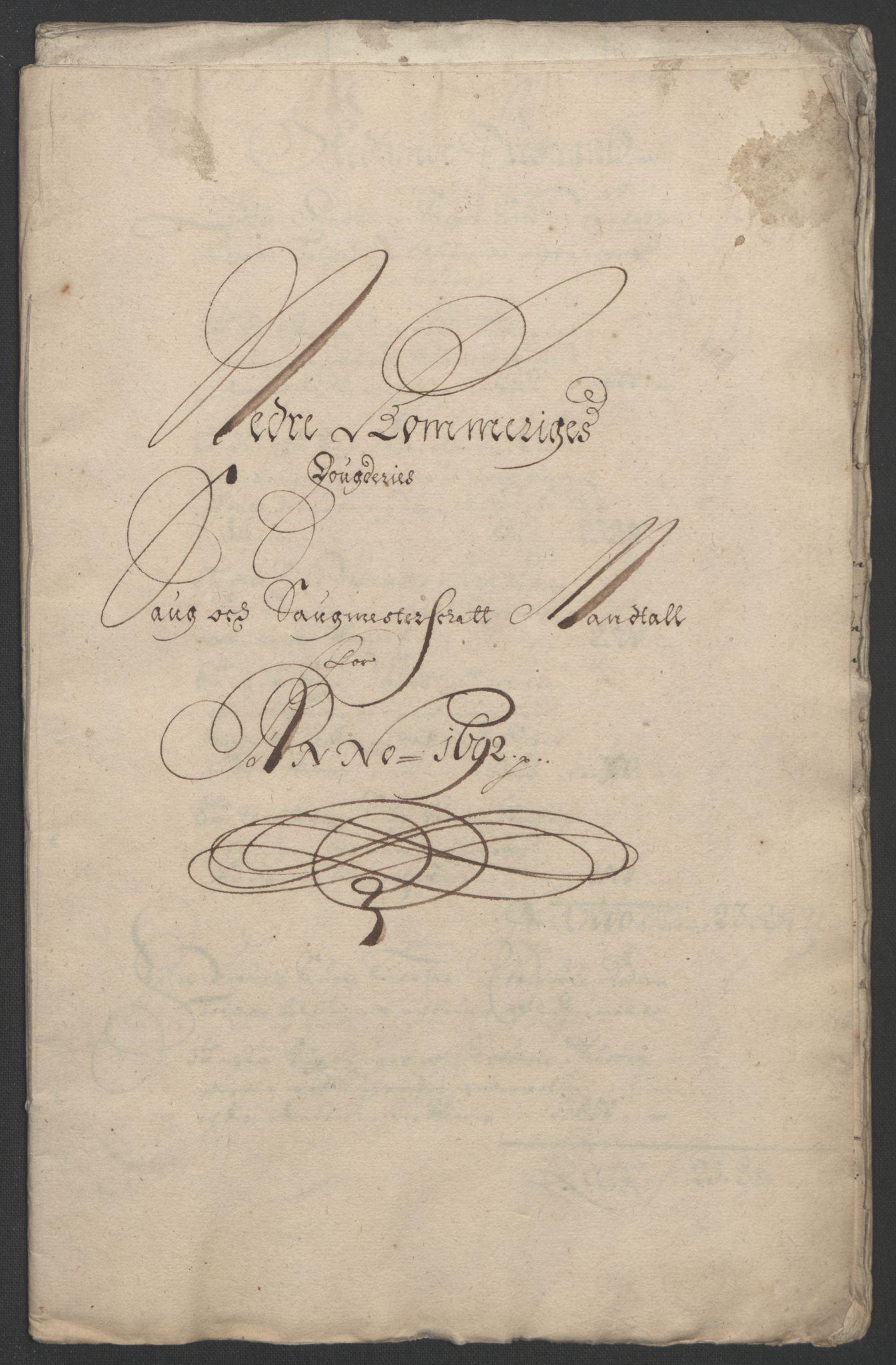 RA, Rentekammeret inntil 1814, Reviderte regnskaper, Fogderegnskap, R11/L0577: Fogderegnskap Nedre Romerike, 1692, s. 152