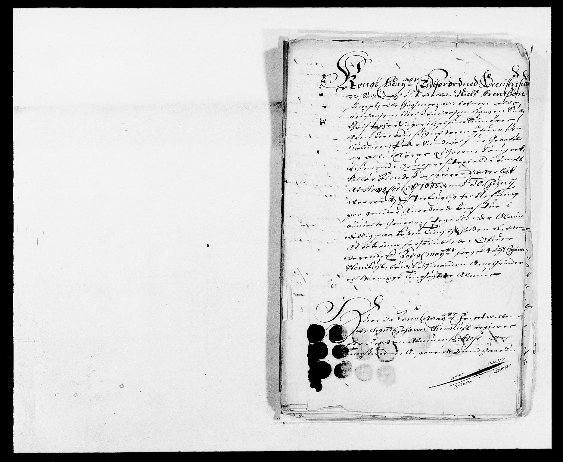 RA, Rentekammeret inntil 1814, Reviderte regnskaper, Fogderegnskap, R13/L0822: Fogderegnskap Solør, Odal og Østerdal, 1685, s. 239