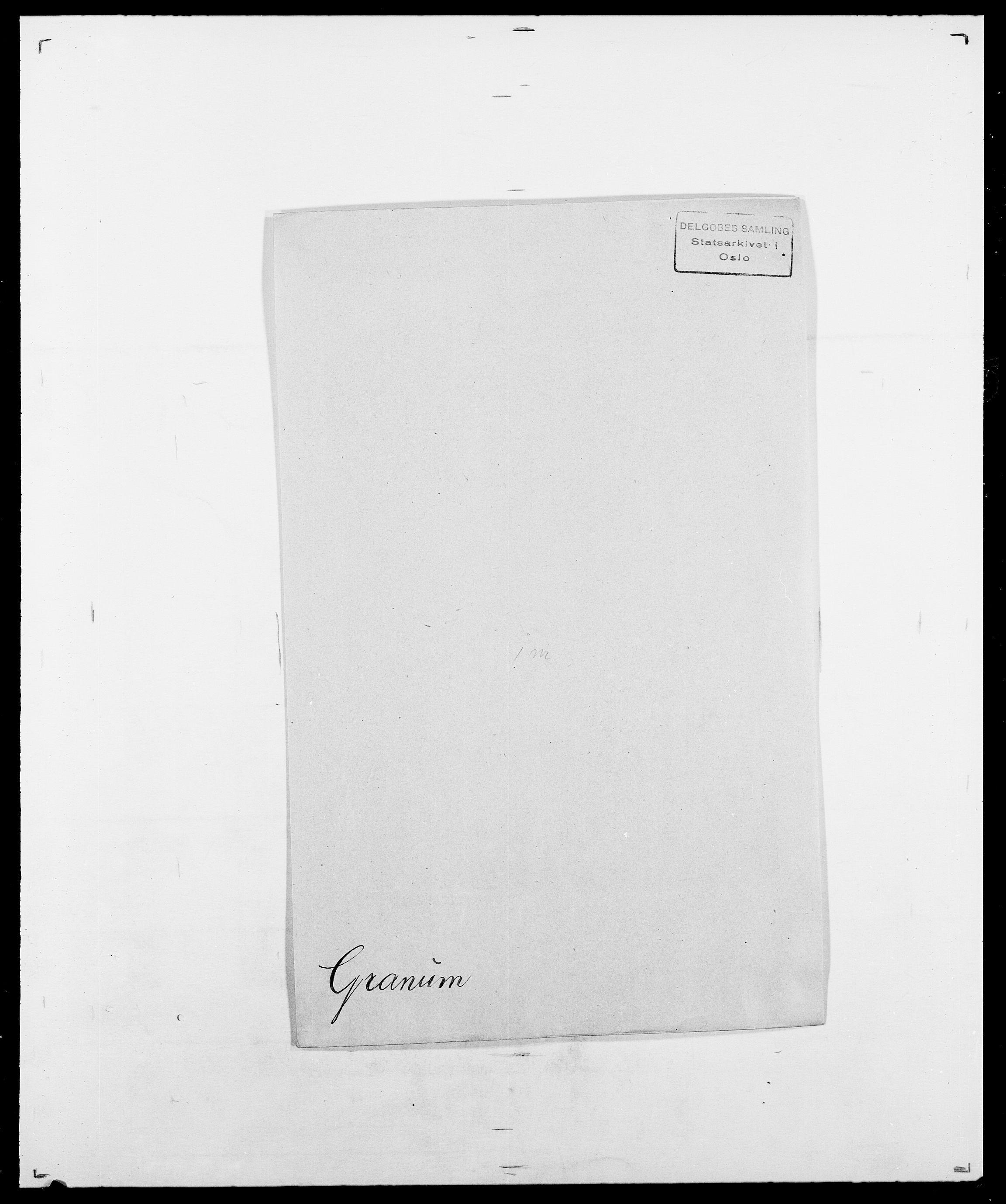 SAO, Delgobe, Charles Antoine - samling, D/Da/L0014: Giebdhausen - Grip, s. 551