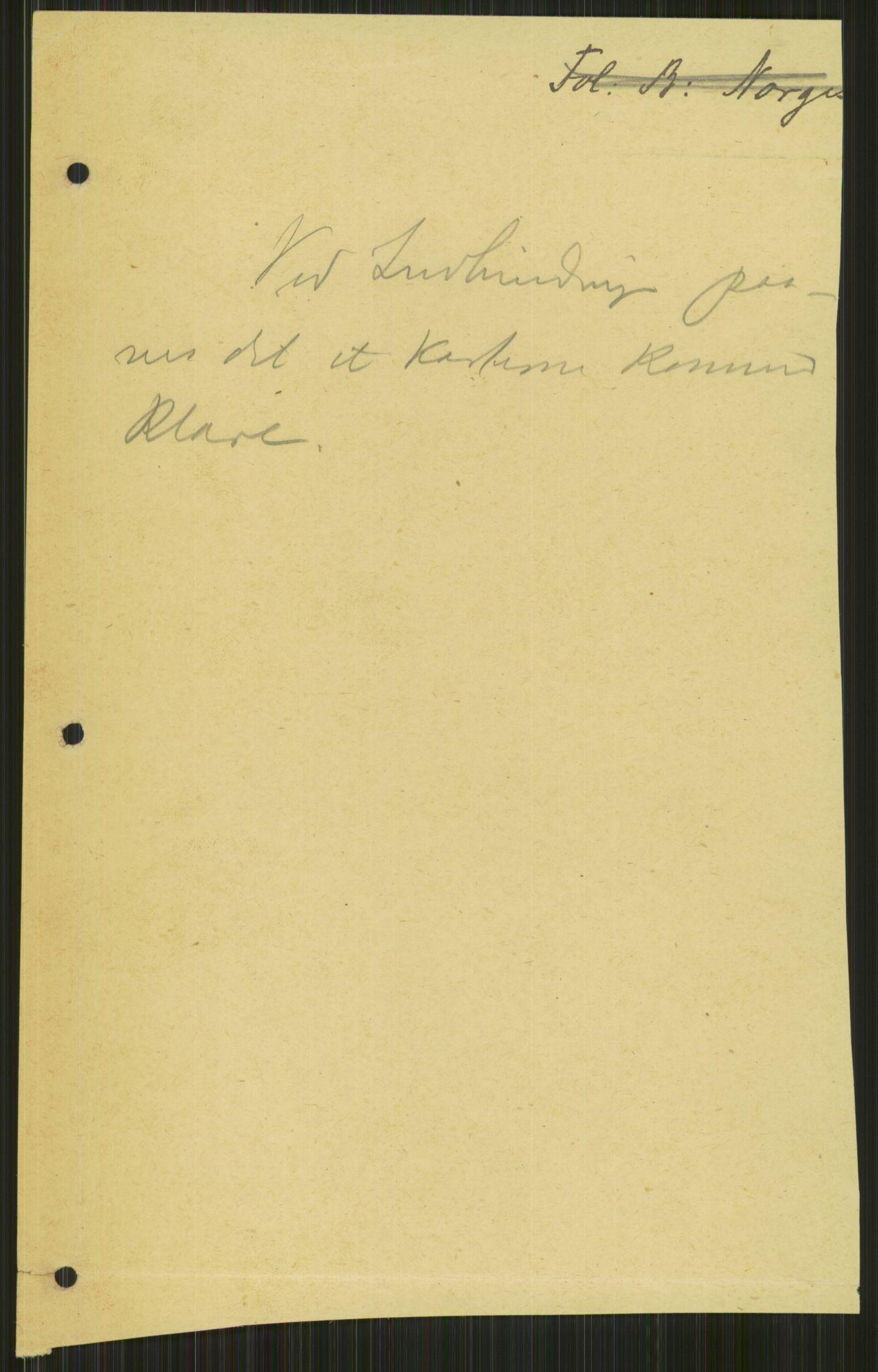 RA, Utenriksstasjonene, Legasjonen i St. Petersburg, Russland, D/Da/L0013: --, 1907-1918, s. 2