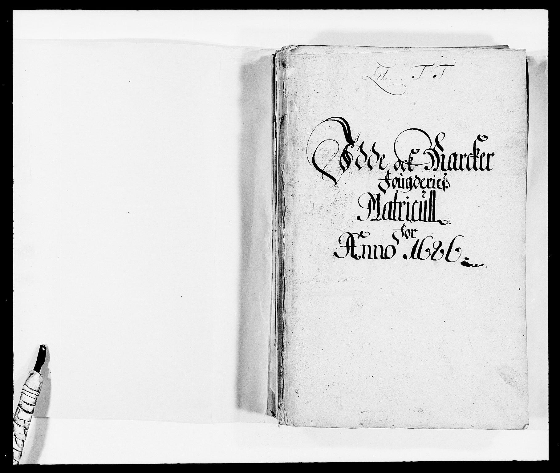 RA, Rentekammeret inntil 1814, Reviderte regnskaper, Fogderegnskap, R01/L0006: Fogderegnskap Idd og Marker, 1685-1686, s. 220