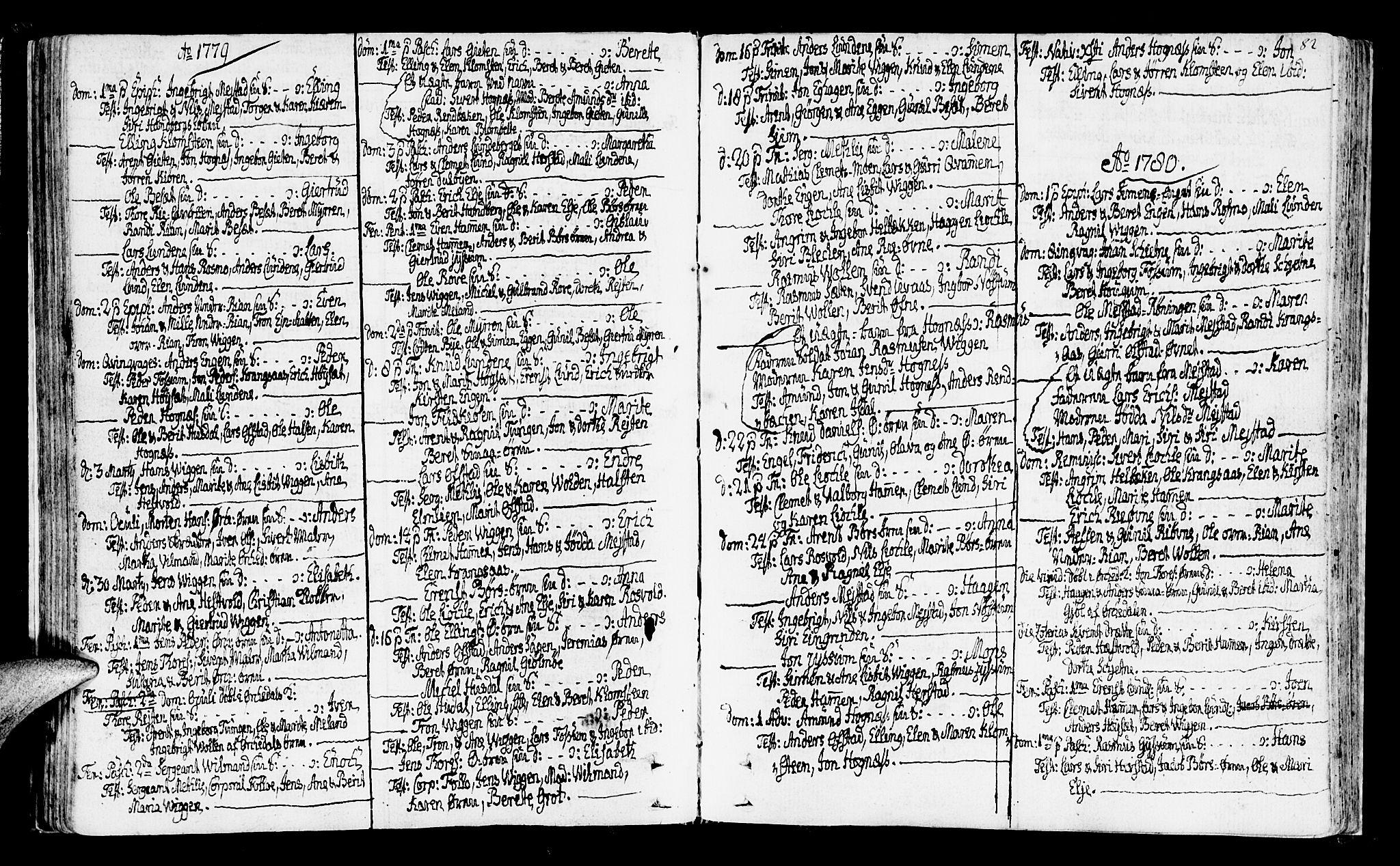 SAT, Ministerialprotokoller, klokkerbøker og fødselsregistre - Sør-Trøndelag, 665/L0768: Ministerialbok nr. 665A03, 1754-1803, s. 82
