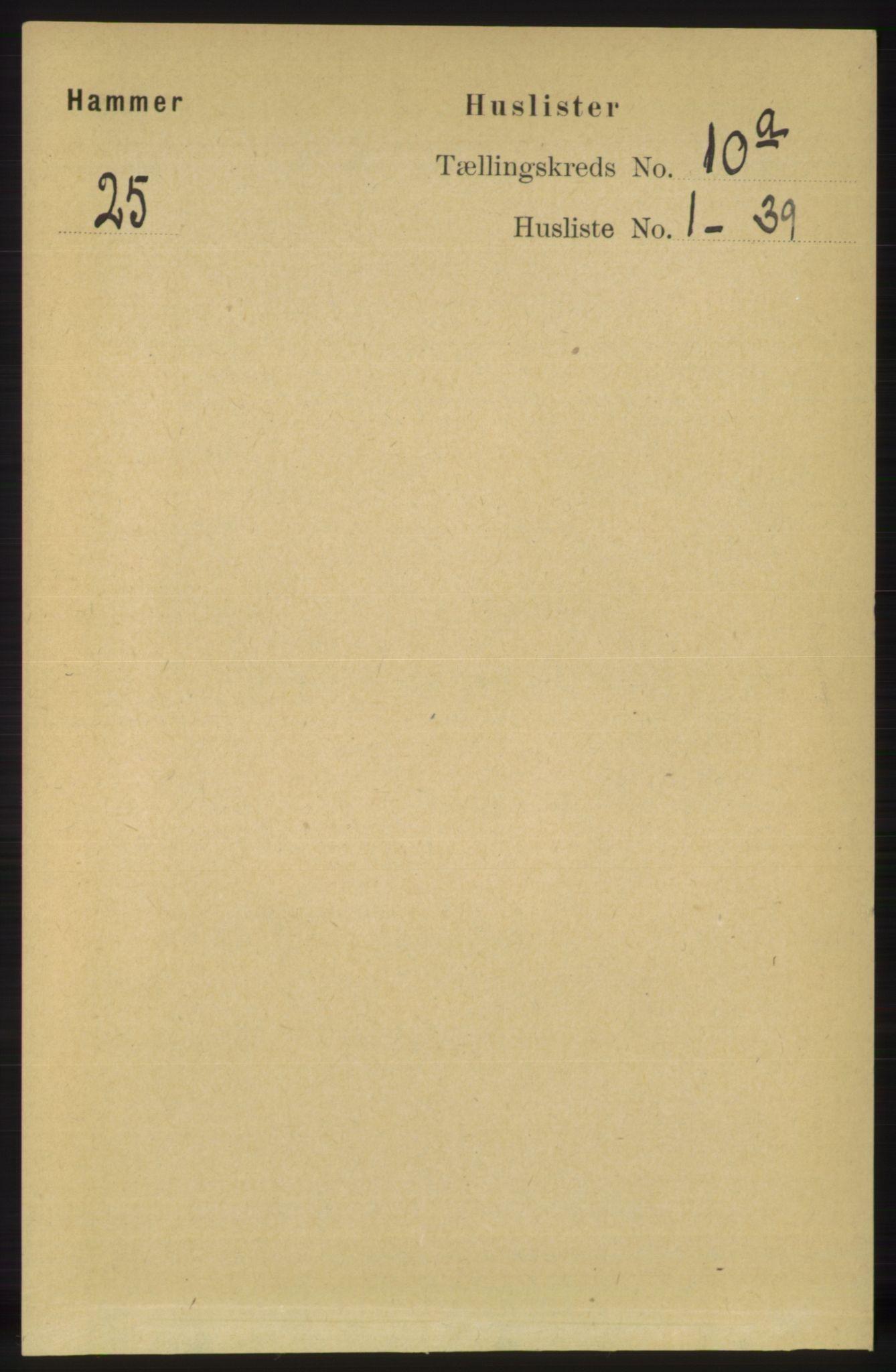 RA, Folketelling 1891 for 1254 Hamre herred, 1891, s. 2733