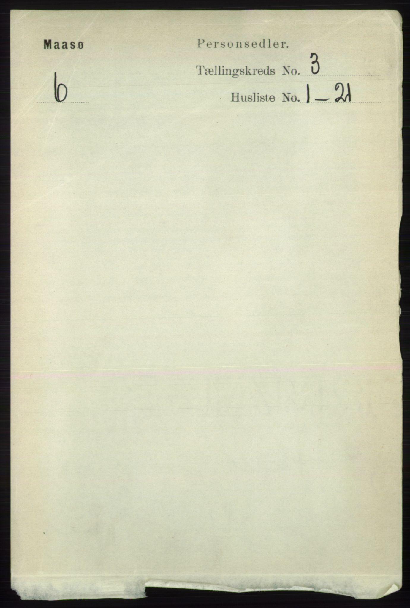 RA, Folketelling 1891 for 2018 Måsøy herred, 1891, s. 383