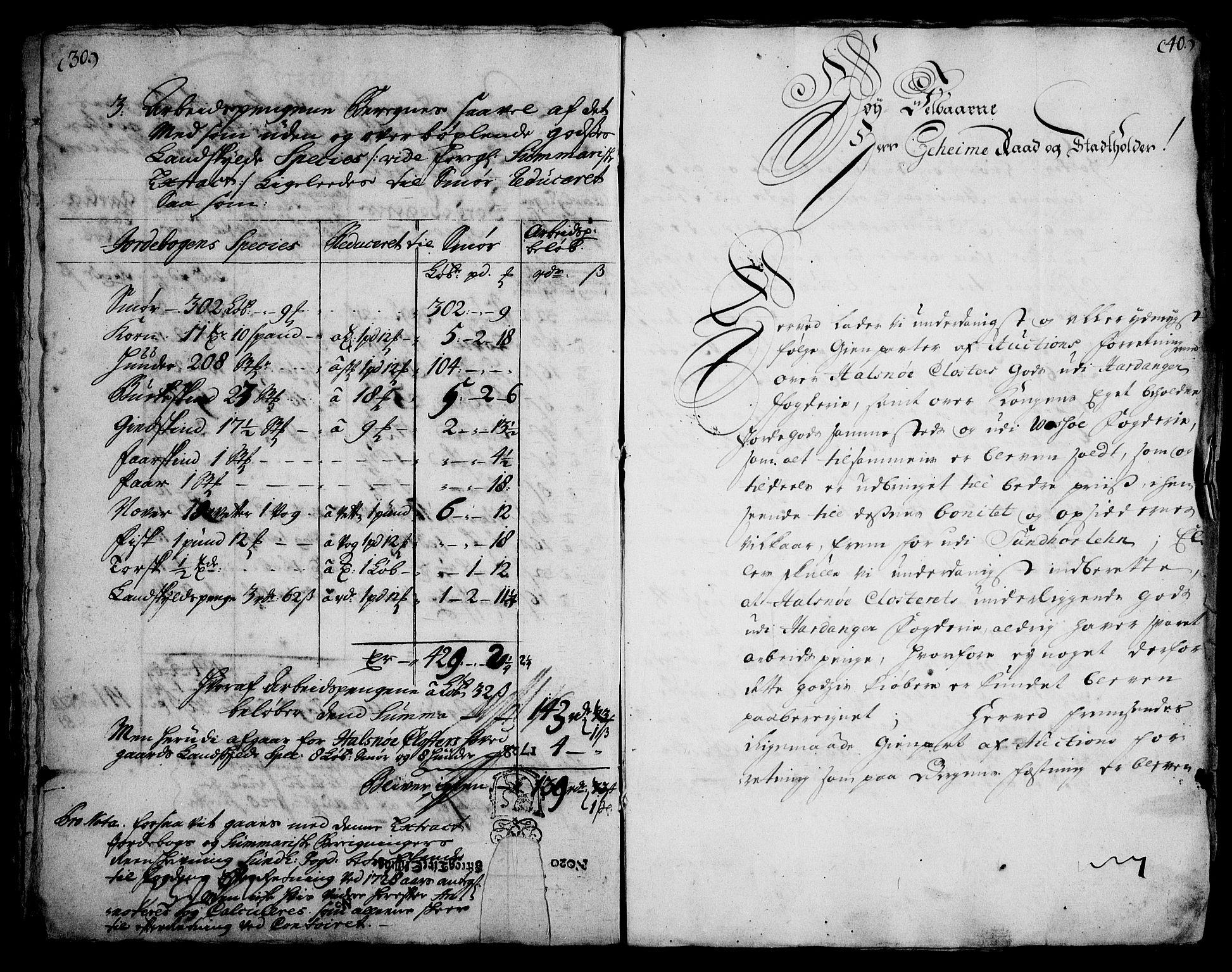 RA, Rentekammeret inntil 1814, Realistisk ordnet avdeling, On/L0003: [Jj 4]: Kommisjonsforretning over Vilhelm Hanssøns forpaktning av Halsnøy klosters gods, 1721-1729, s. 460