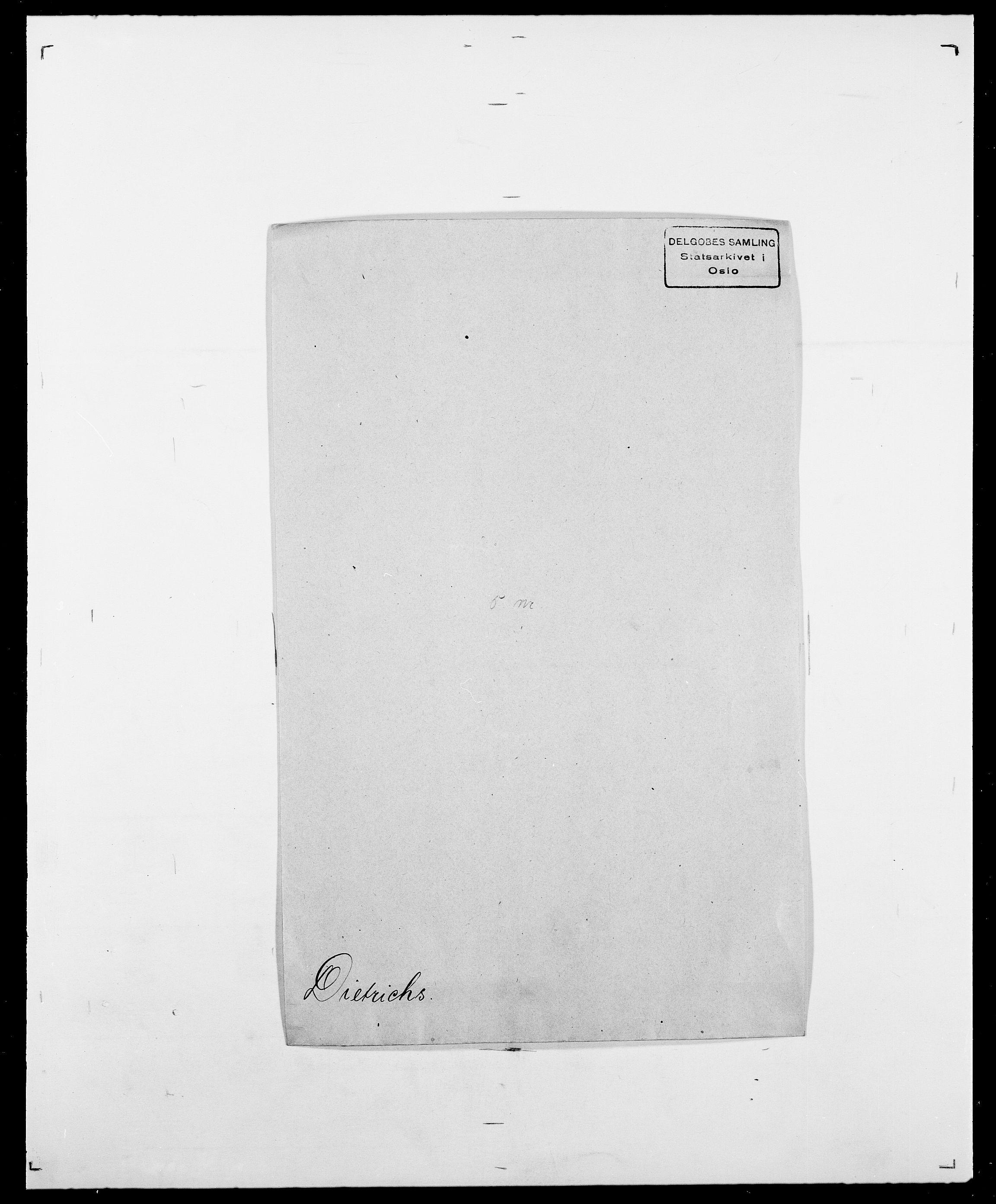 SAO, Delgobe, Charles Antoine - samling, D/Da/L0009: Dahl - v. Düren, s. 557