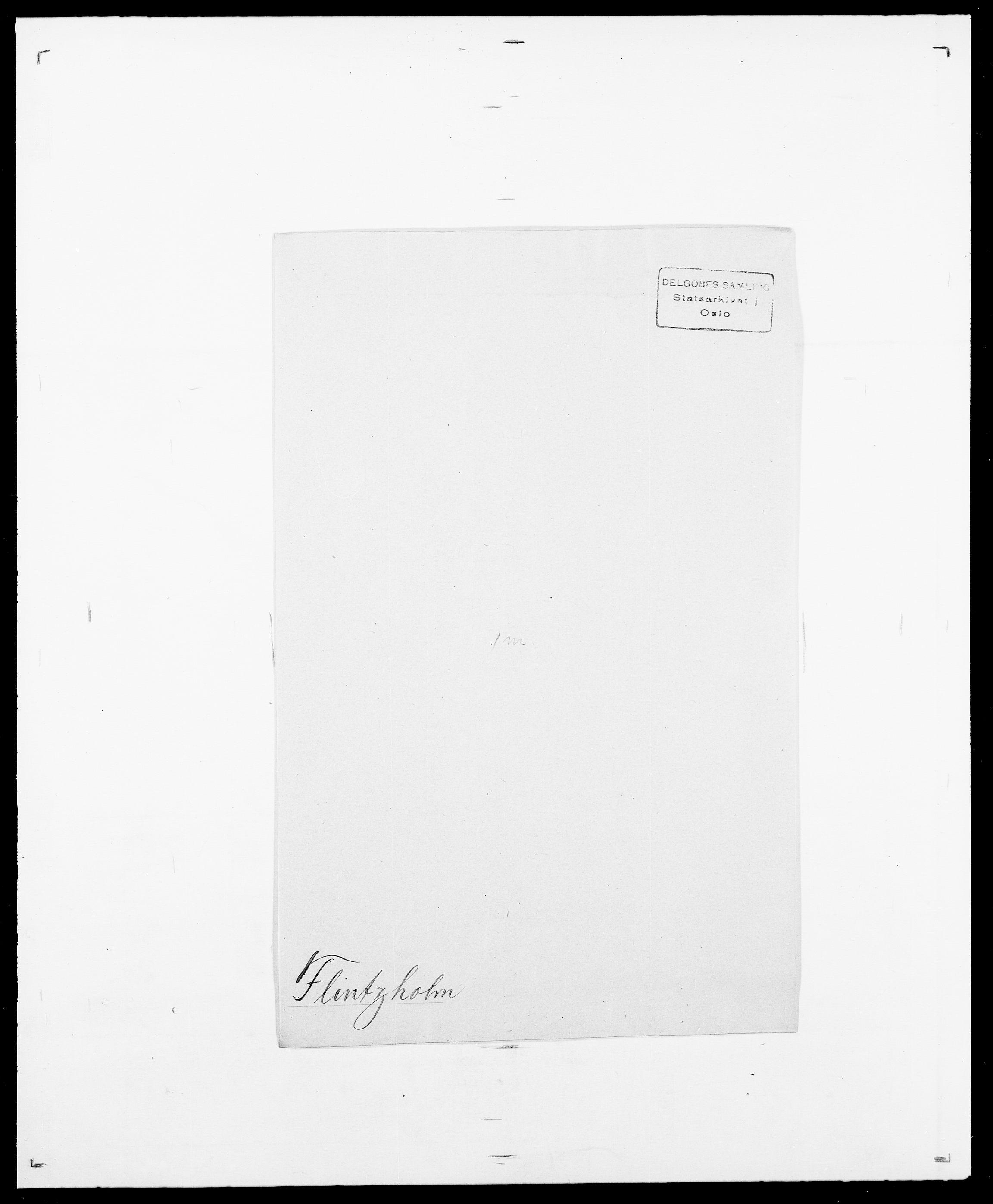 SAO, Delgobe, Charles Antoine - samling, D/Da/L0011: Fahlander - Flood, Flod, s. 676