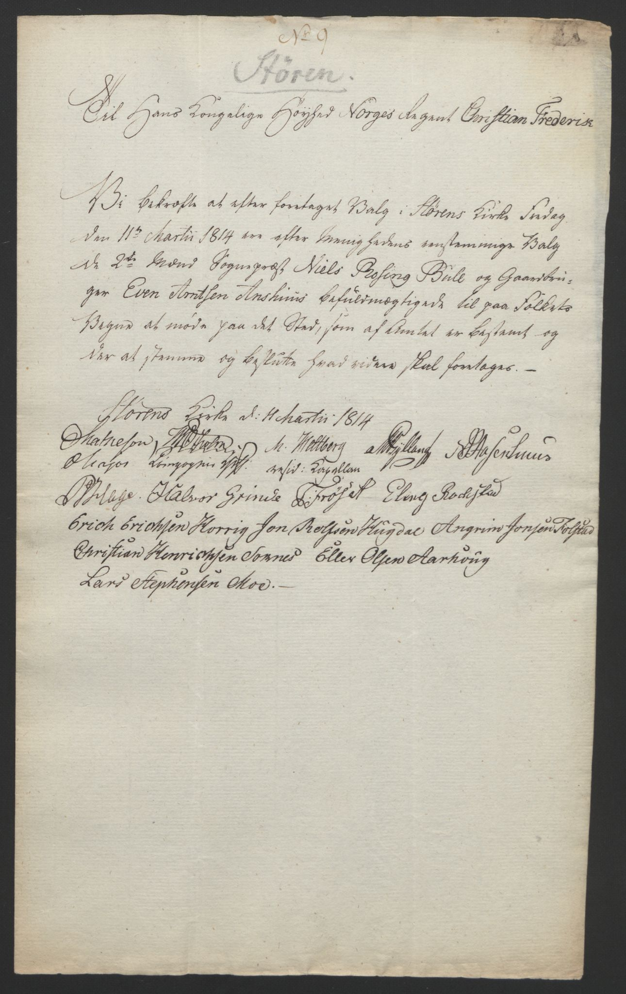RA, Statsrådssekretariatet, D/Db/L0008: Fullmakter for Eidsvollsrepresentantene i 1814. , 1814, s. 458