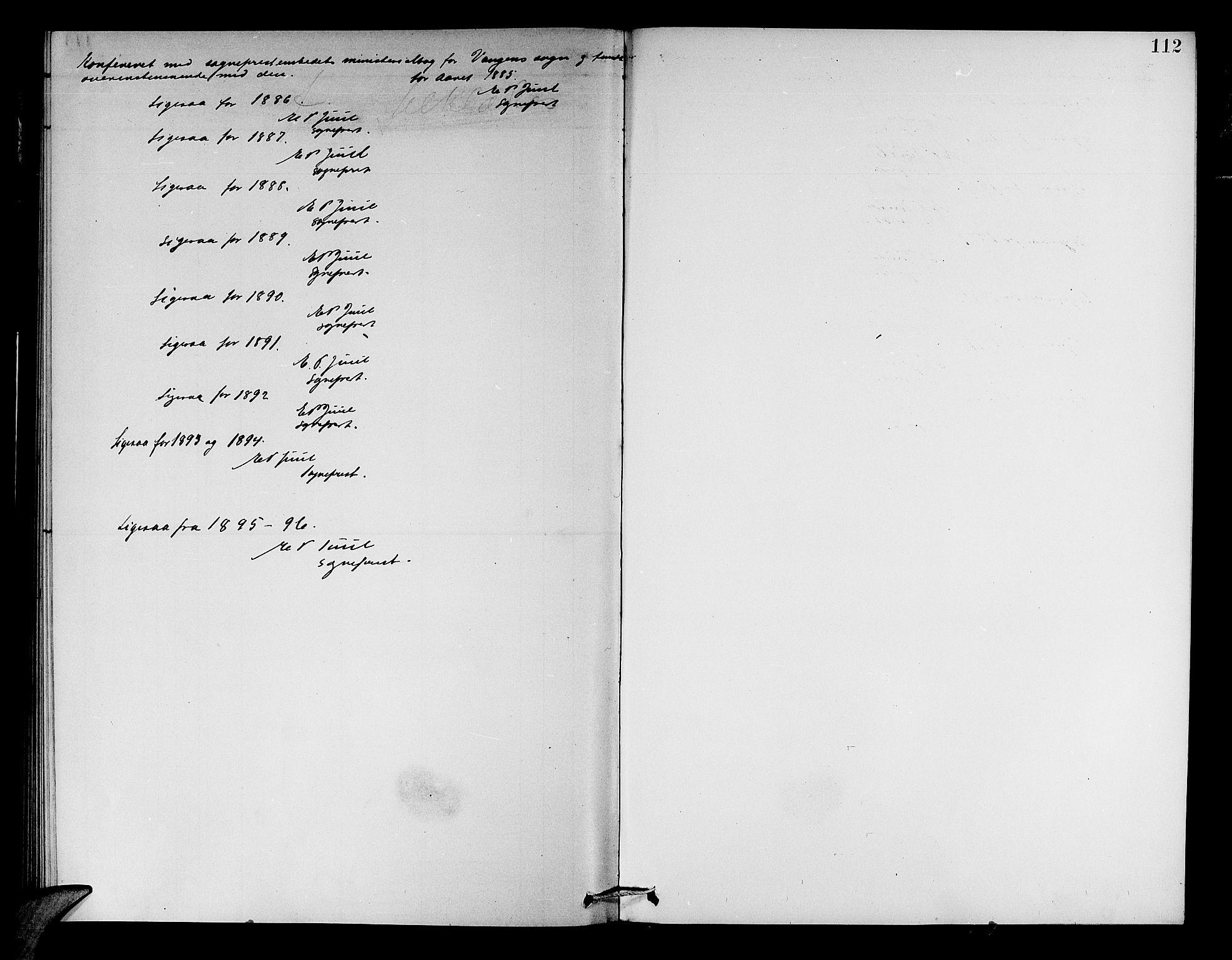 SAB, Aurland Sokneprestembete*, Klokkerbok nr. A 2, 1880-1895, s. 112
