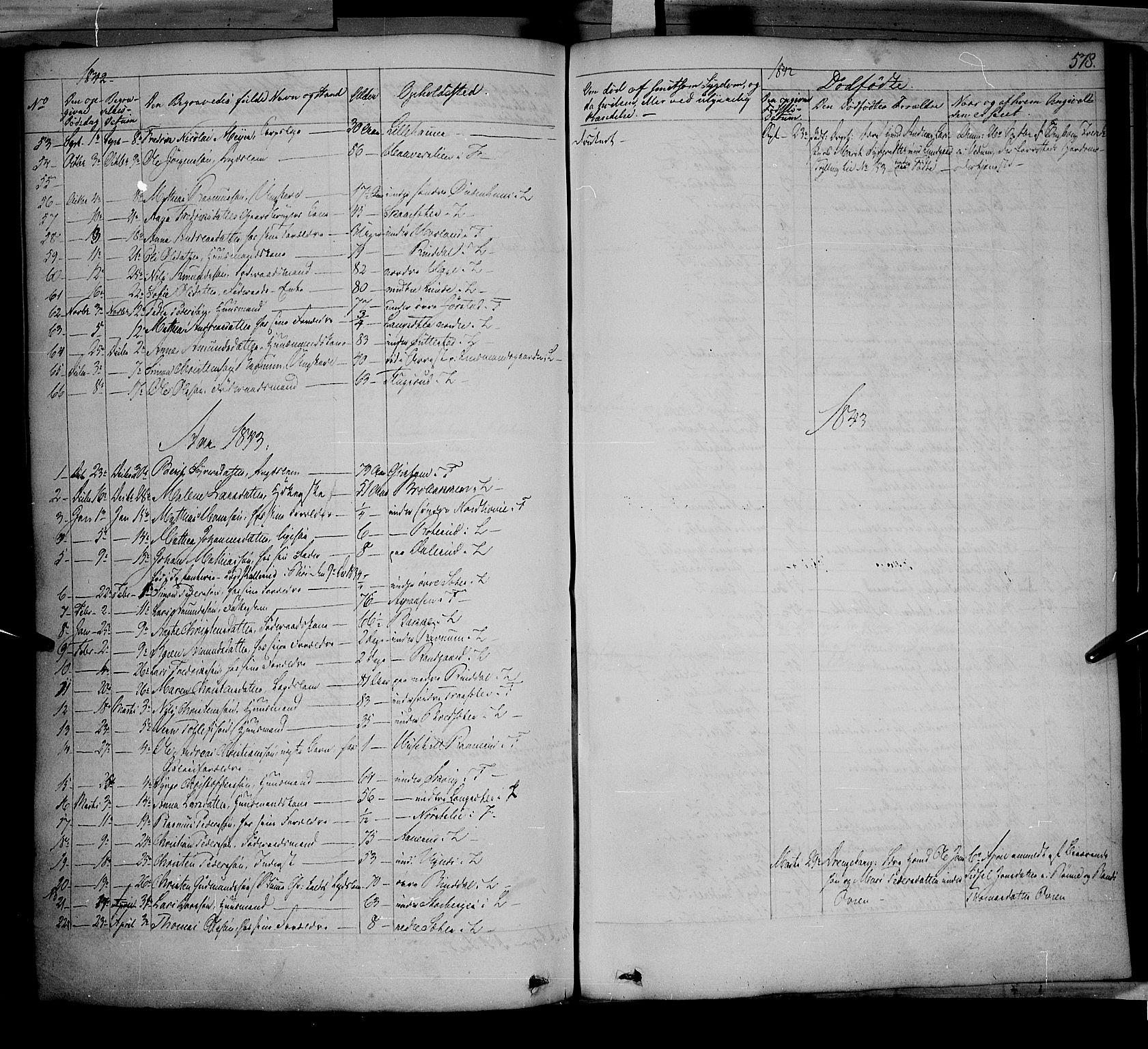 SAH, Fåberg prestekontor, Ministerialbok nr. 5, 1836-1854, s. 577-578