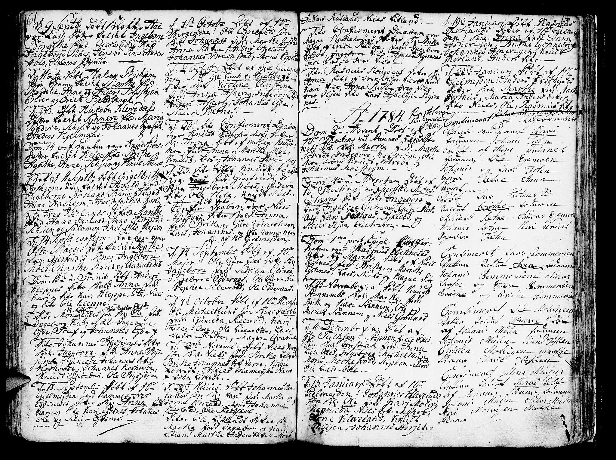 SAB, Hosanger sokneprestembete, H/Haa: Ministerialbok nr. A 2 /1, 1766-1793, s. 63