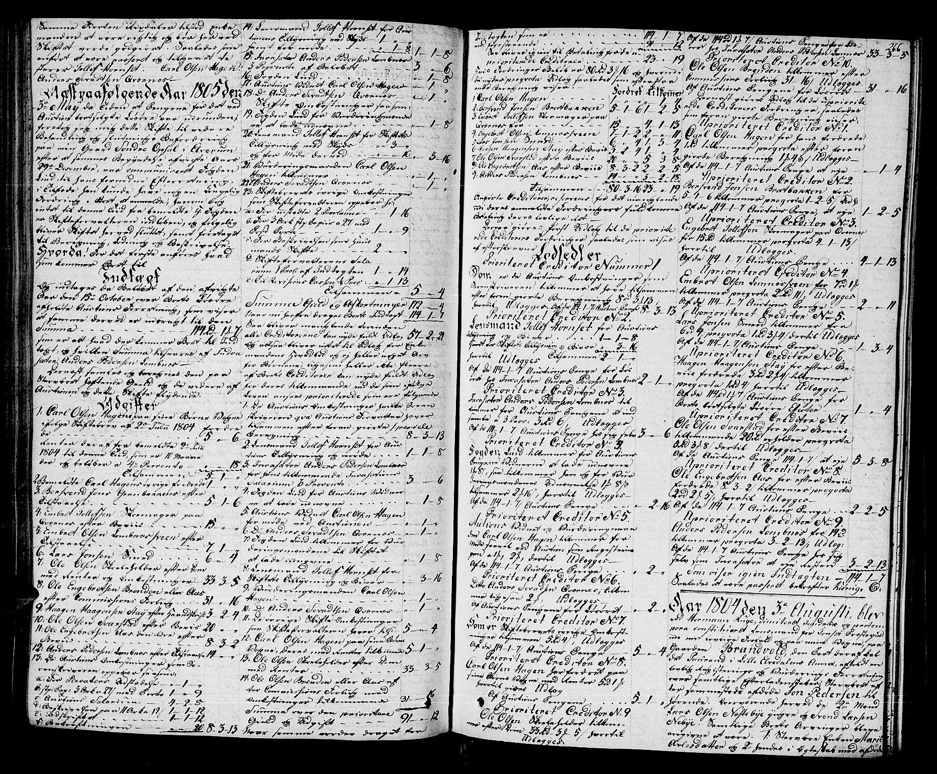 SAH, Østerdalen sorenskriveri, J/Ja/L0009: Skifteprotokoll, 1803-1806, s. 265b-266a