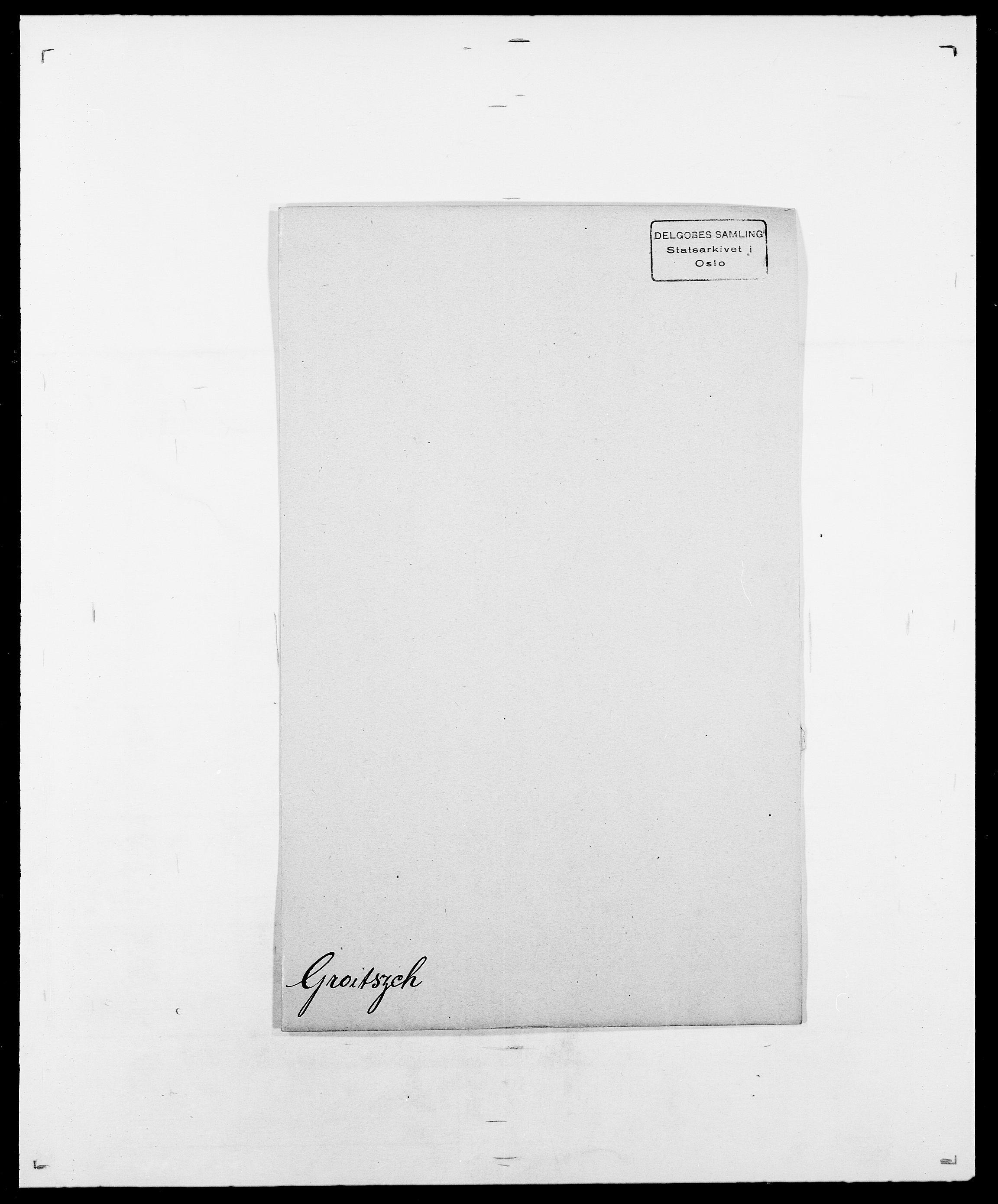 SAO, Delgobe, Charles Antoine - samling, D/Da/L0015: Grodtshilling - Halvorsæth, s. 3