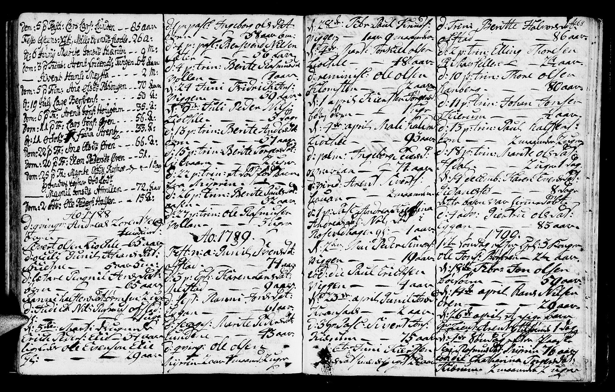 SAT, Ministerialprotokoller, klokkerbøker og fødselsregistre - Sør-Trøndelag, 665/L0768: Ministerialbok nr. 665A03, 1754-1803, s. 168