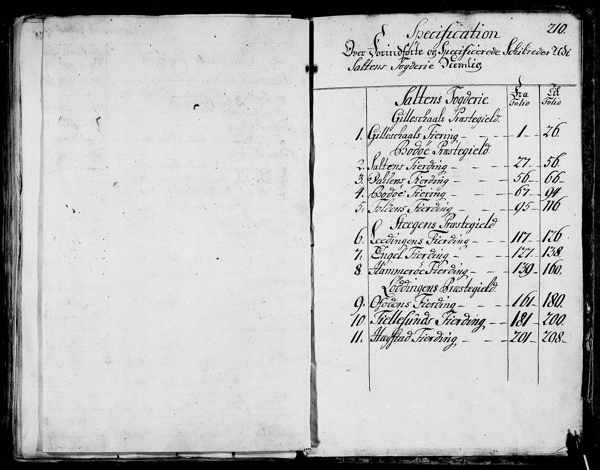 RA, Rentekammeret inntil 1814, Realistisk ordnet avdeling, N/Nb/Nbf/L0173: Salten matrikkelprotokoll, 1723, s. 209b-210a