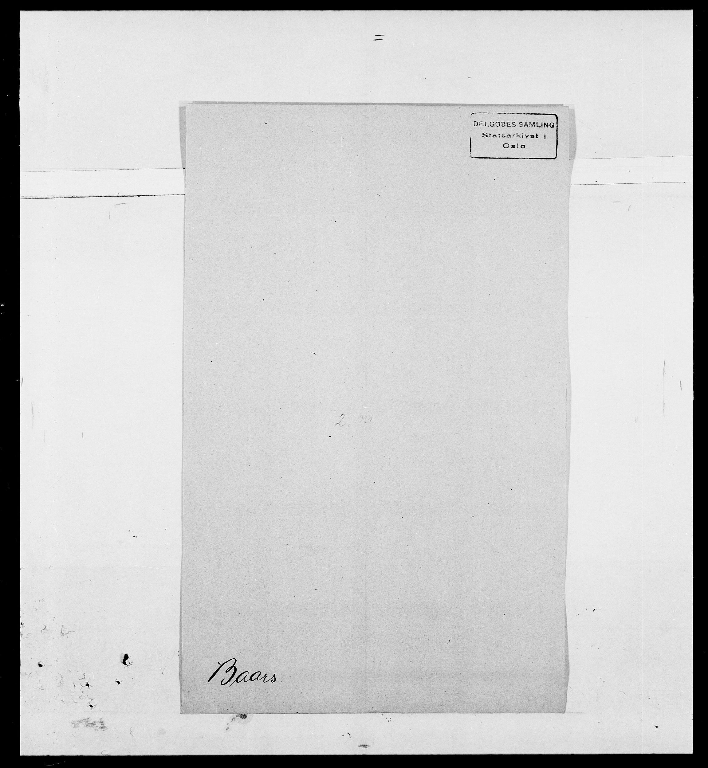 SAO, Delgobe, Charles Antoine - samling, D/Da/L0002: Anker, Ancher - Bauner, s. 556