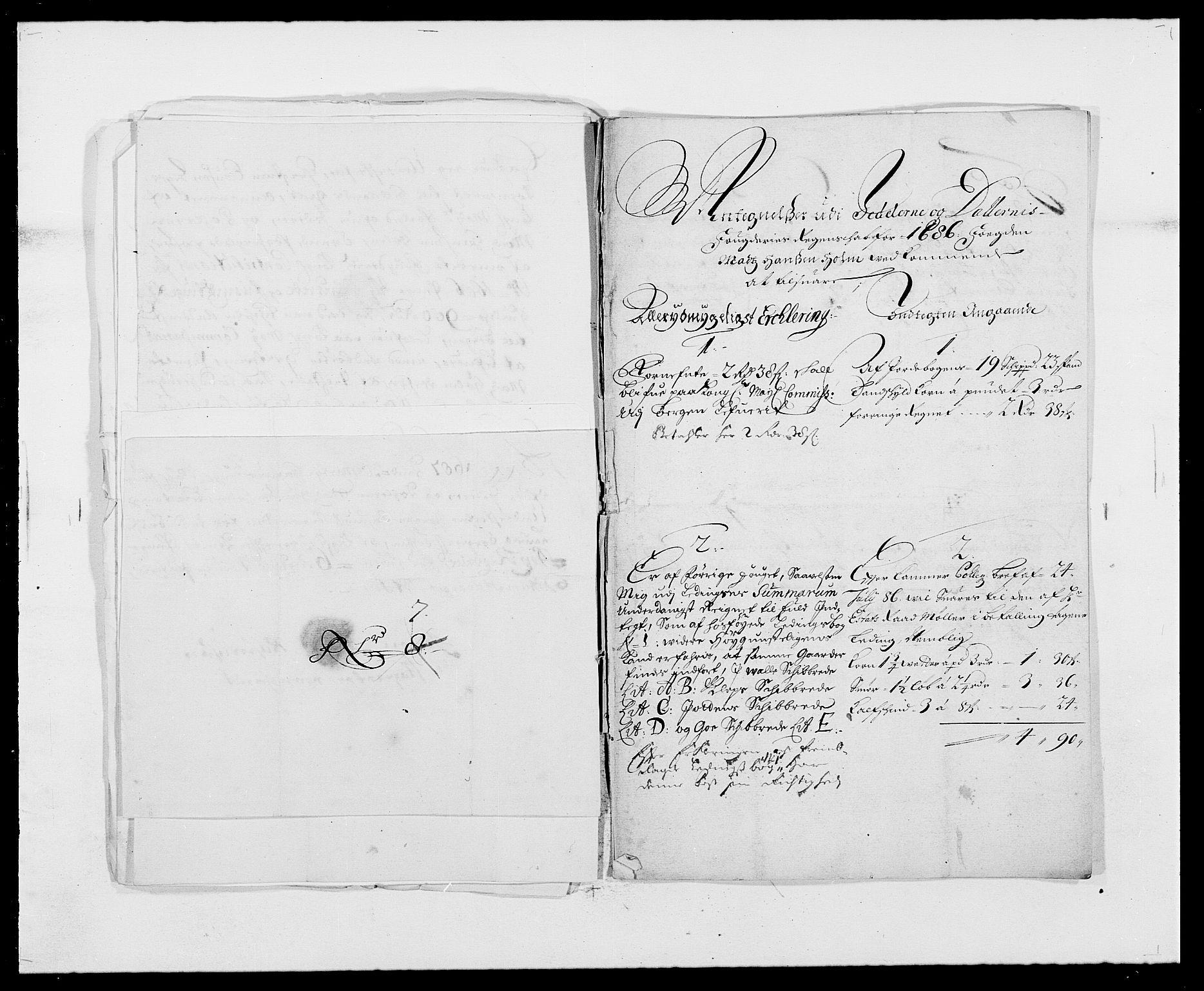 RA, Rentekammeret inntil 1814, Reviderte regnskaper, Fogderegnskap, R46/L2726: Fogderegnskap Jæren og Dalane, 1686-1689, s. 99