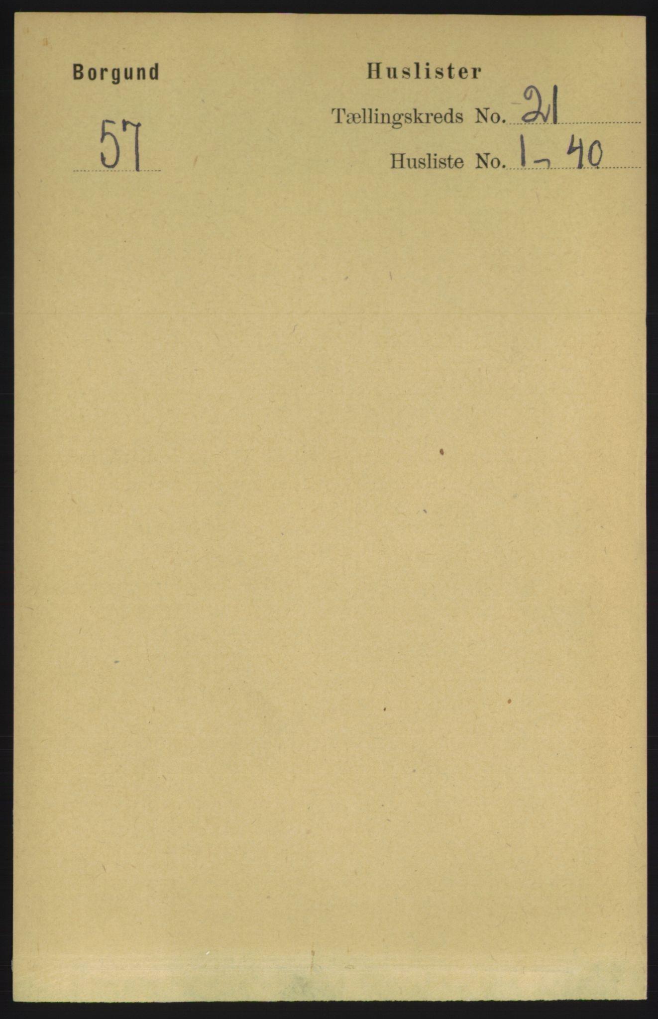RA, Folketelling 1891 for 1531 Borgund herred, 1891, s. 6299