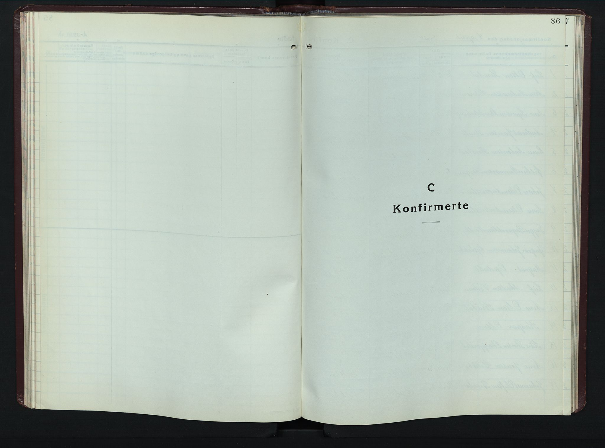 SAH, Øyer prestekontor, Klokkerbok nr. 8, 1929-1947, s. 86