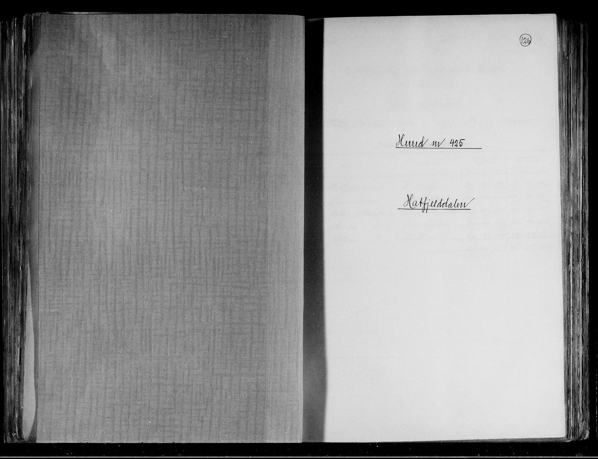 RA, Folketelling 1891 for 1826 Hattfjelldal herred, 1891, s. 1