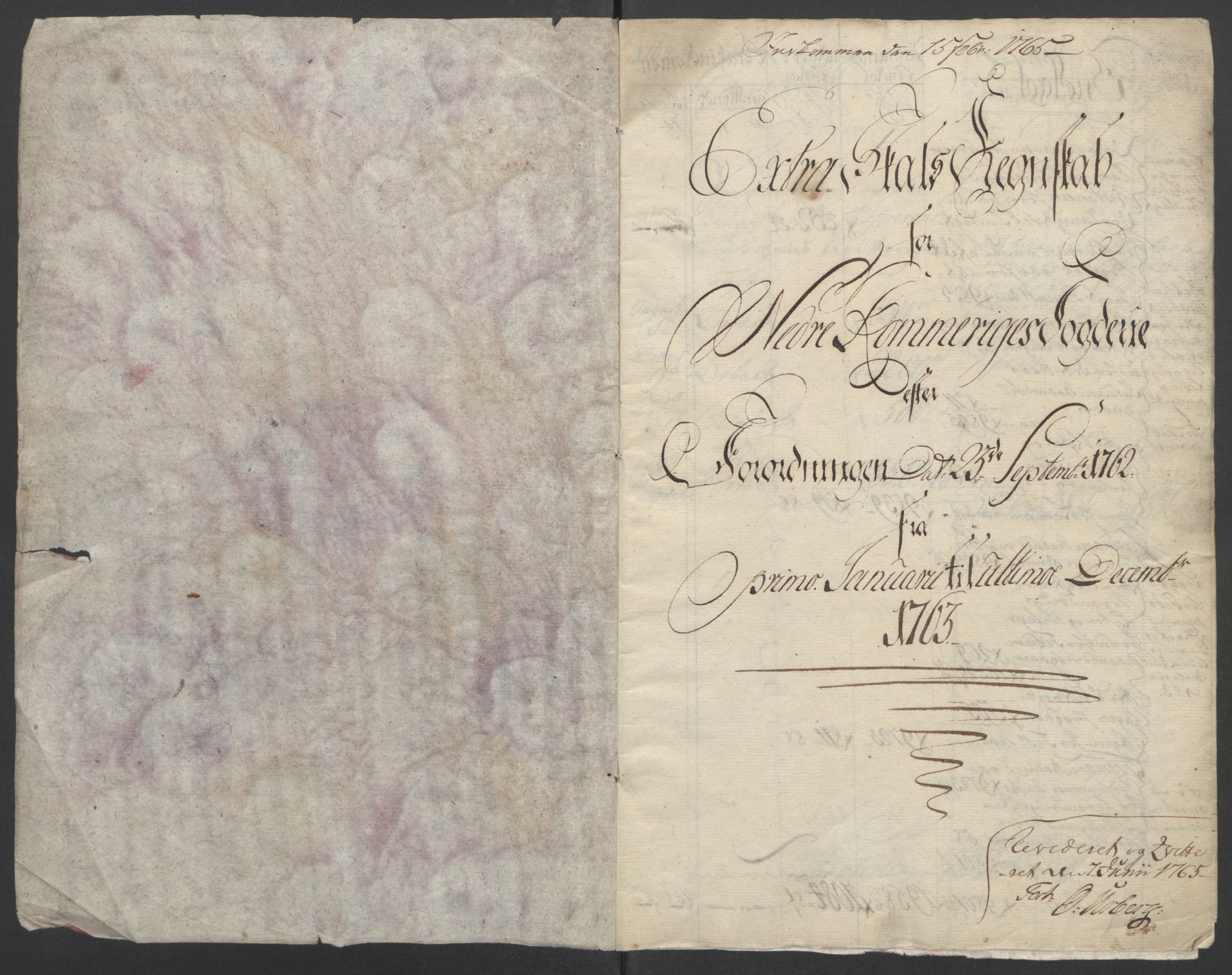 RA, Rentekammeret inntil 1814, Reviderte regnskaper, Fogderegnskap, R11/L0688: Ekstraskatten Nedre Romerike, 1763, s. 5
