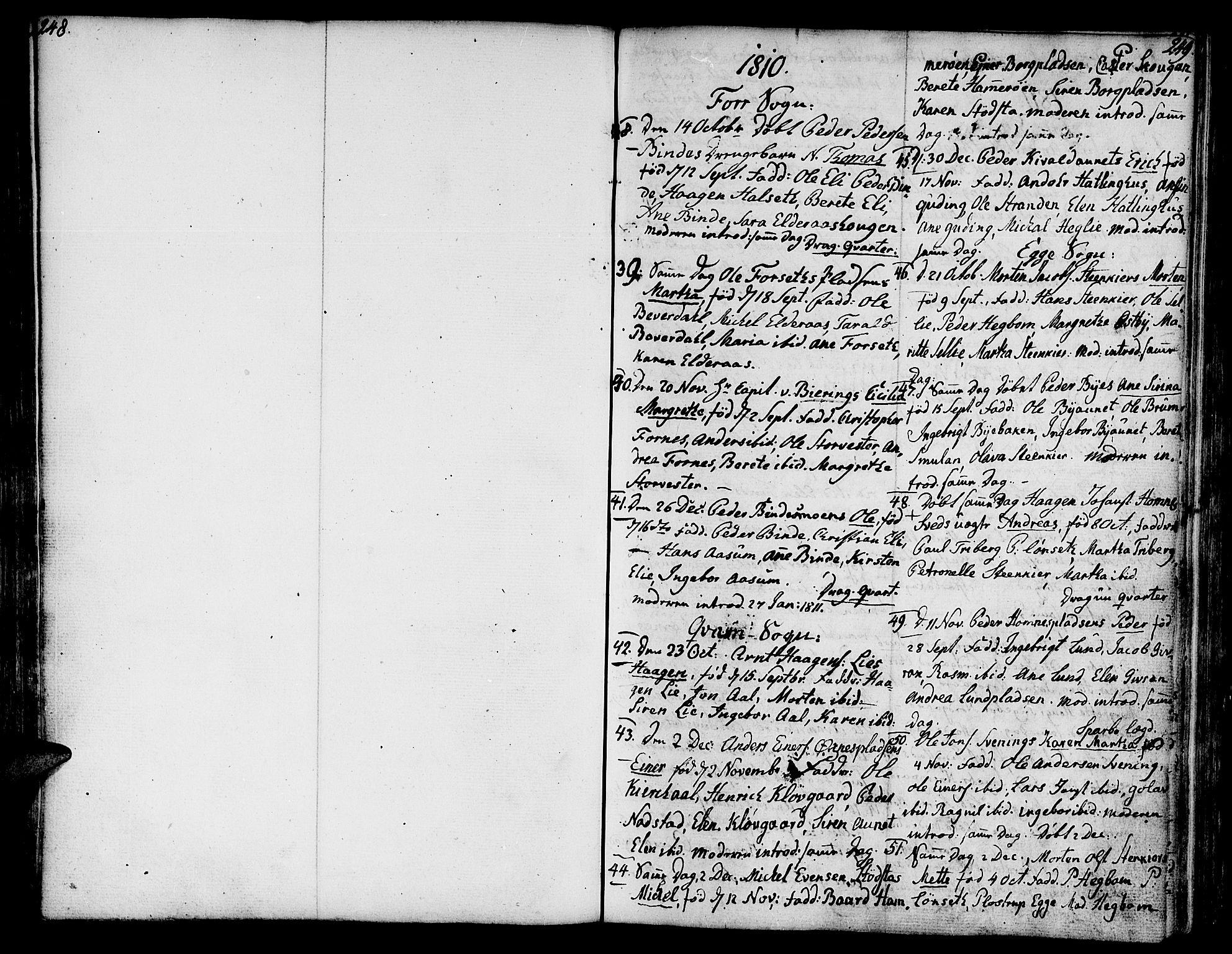 SAT, Ministerialprotokoller, klokkerbøker og fødselsregistre - Nord-Trøndelag, 746/L0440: Ministerialbok nr. 746A02, 1760-1815, s. 248-249
