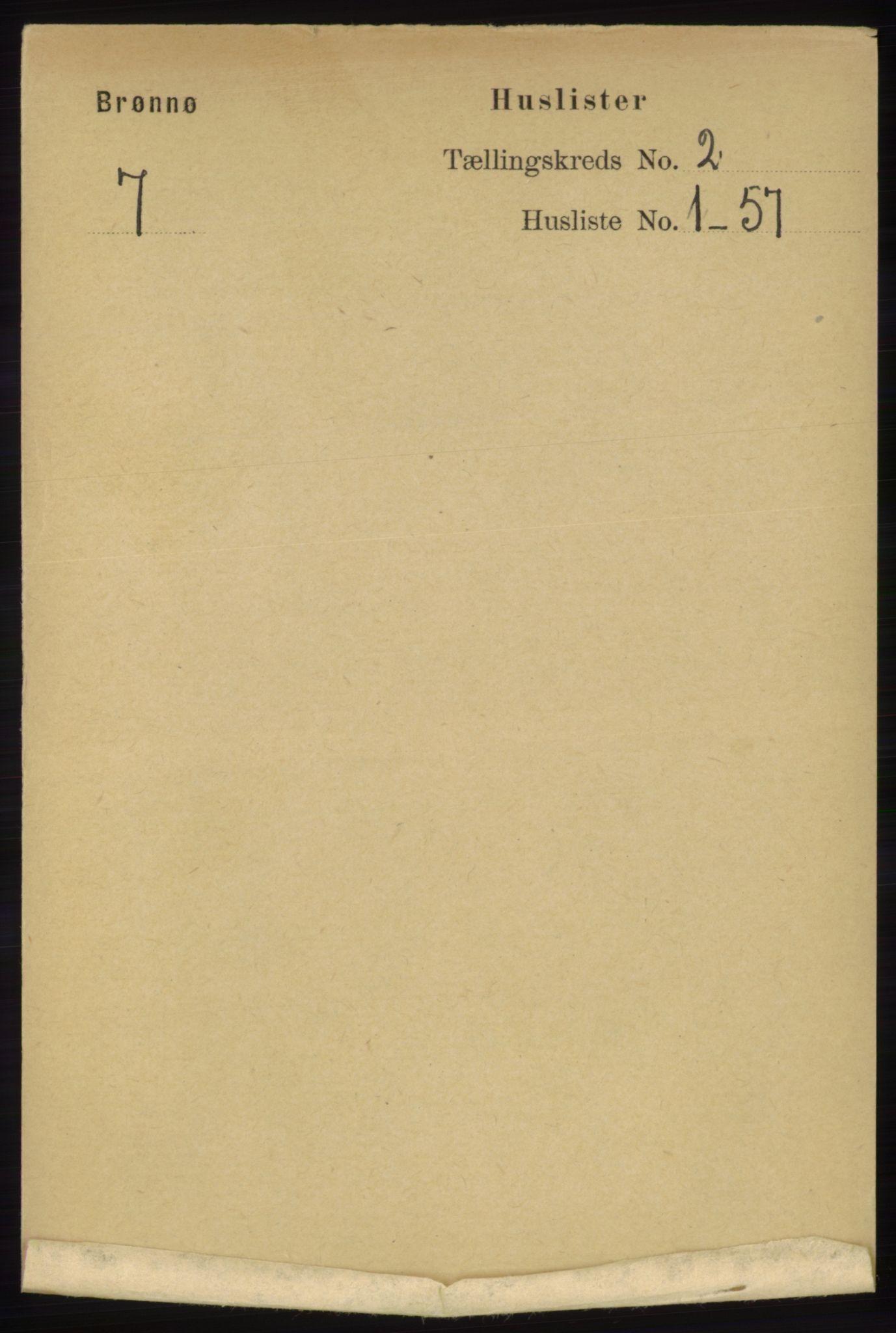 RA, Folketelling 1891 for 1814 Brønnøy herred, 1891, s. 747