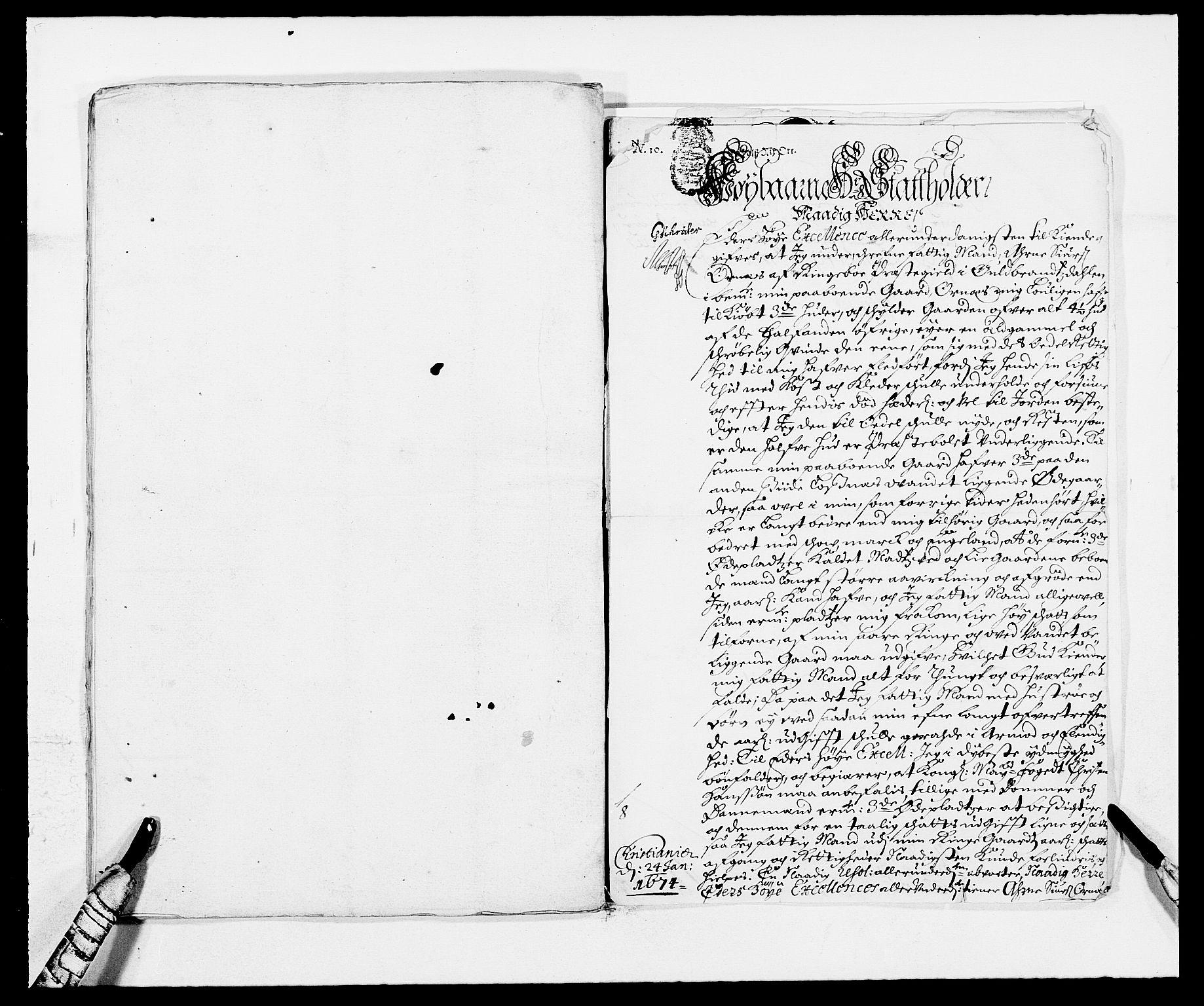 RA, Rentekammeret inntil 1814, Reviderte regnskaper, Fogderegnskap, R17/L1156: Fogderegnskap Gudbrandsdal, 1681, s. 174