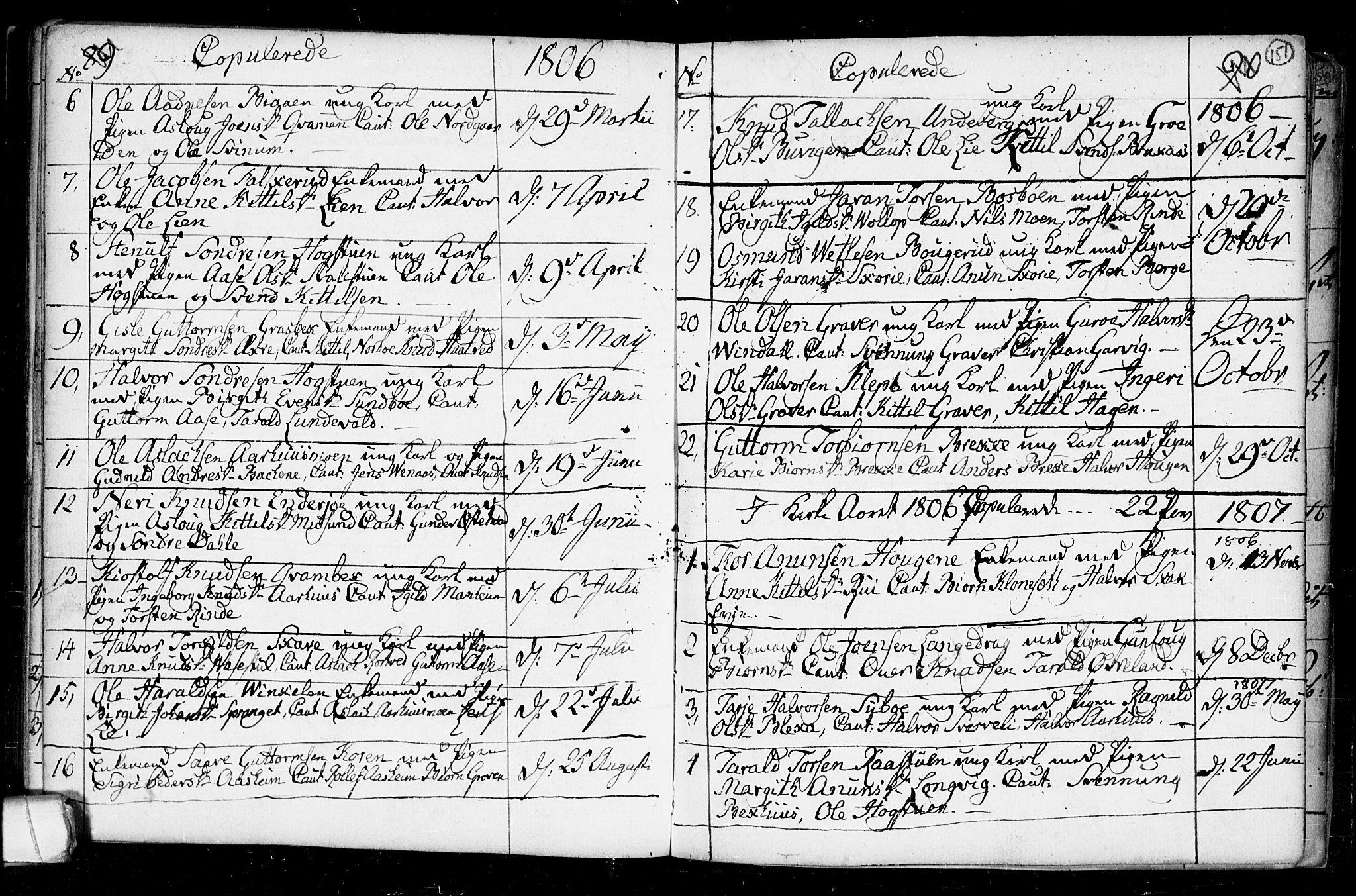 SAKO, Seljord kirkebøker, F/Fa/L0008: Ministerialbok nr. I 8, 1755-1814, s. 151