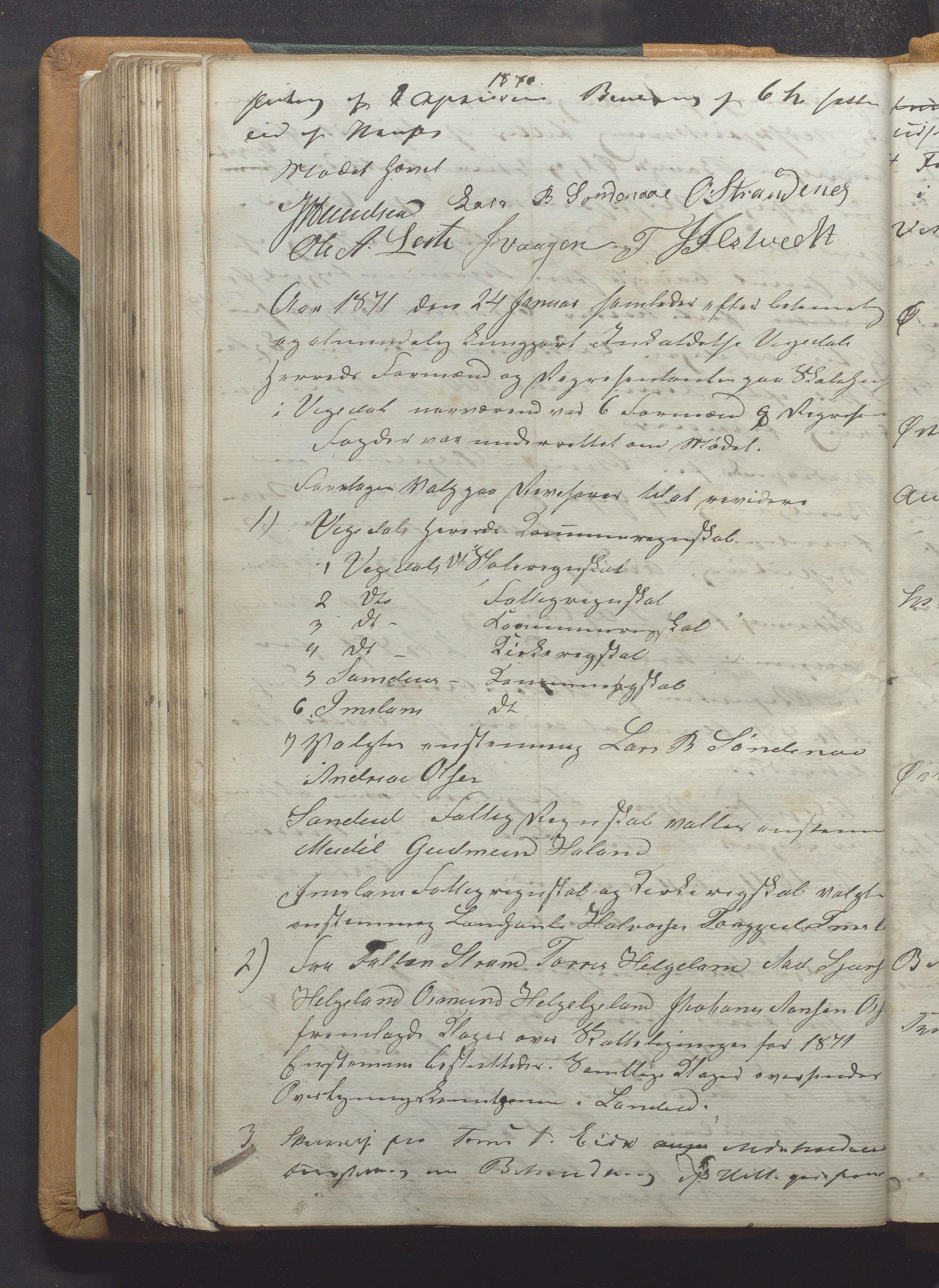 IKAR, Vikedal kommune - Formannskapet, Aaa/L0001: Møtebok, 1837-1874, s. 205b