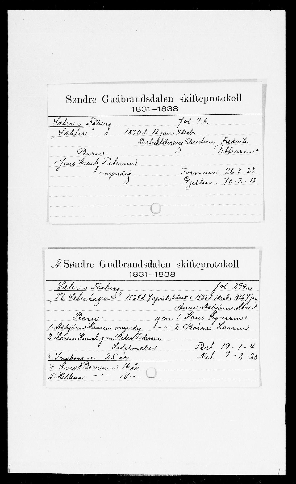 SAH, Sør-Gudbrandsdal tingrett, J, 1658-1885, s. 16508