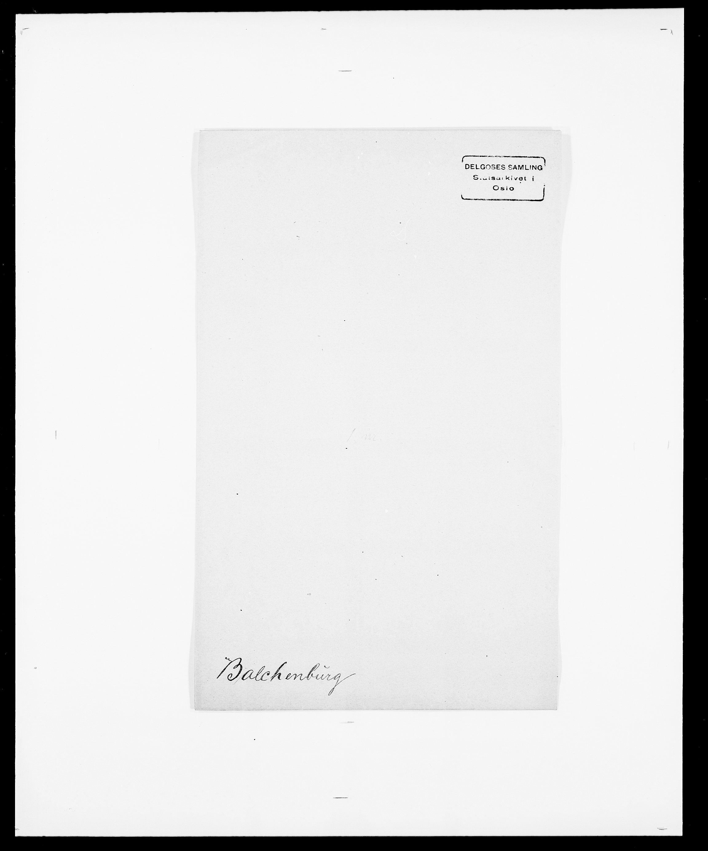 SAO, Delgobe, Charles Antoine - samling, D/Da/L0003: Barca - Bergen, s. 164