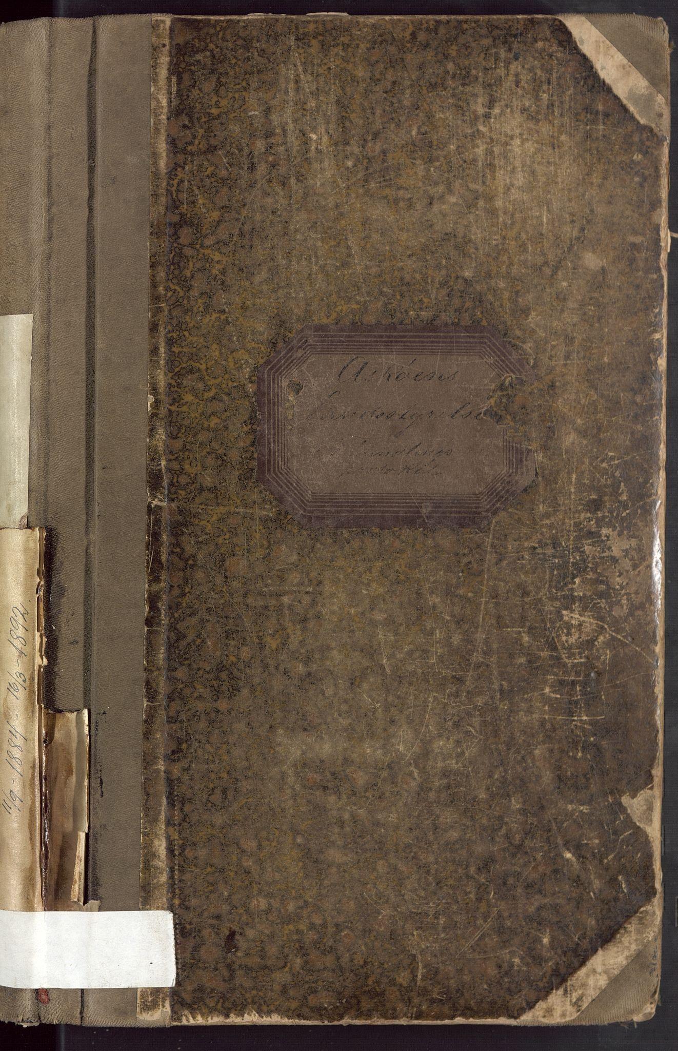BBA, Laksevåg kommune. Formannskapet, Ab/L0002: Forhandlingsprotokoll, 1884-1892