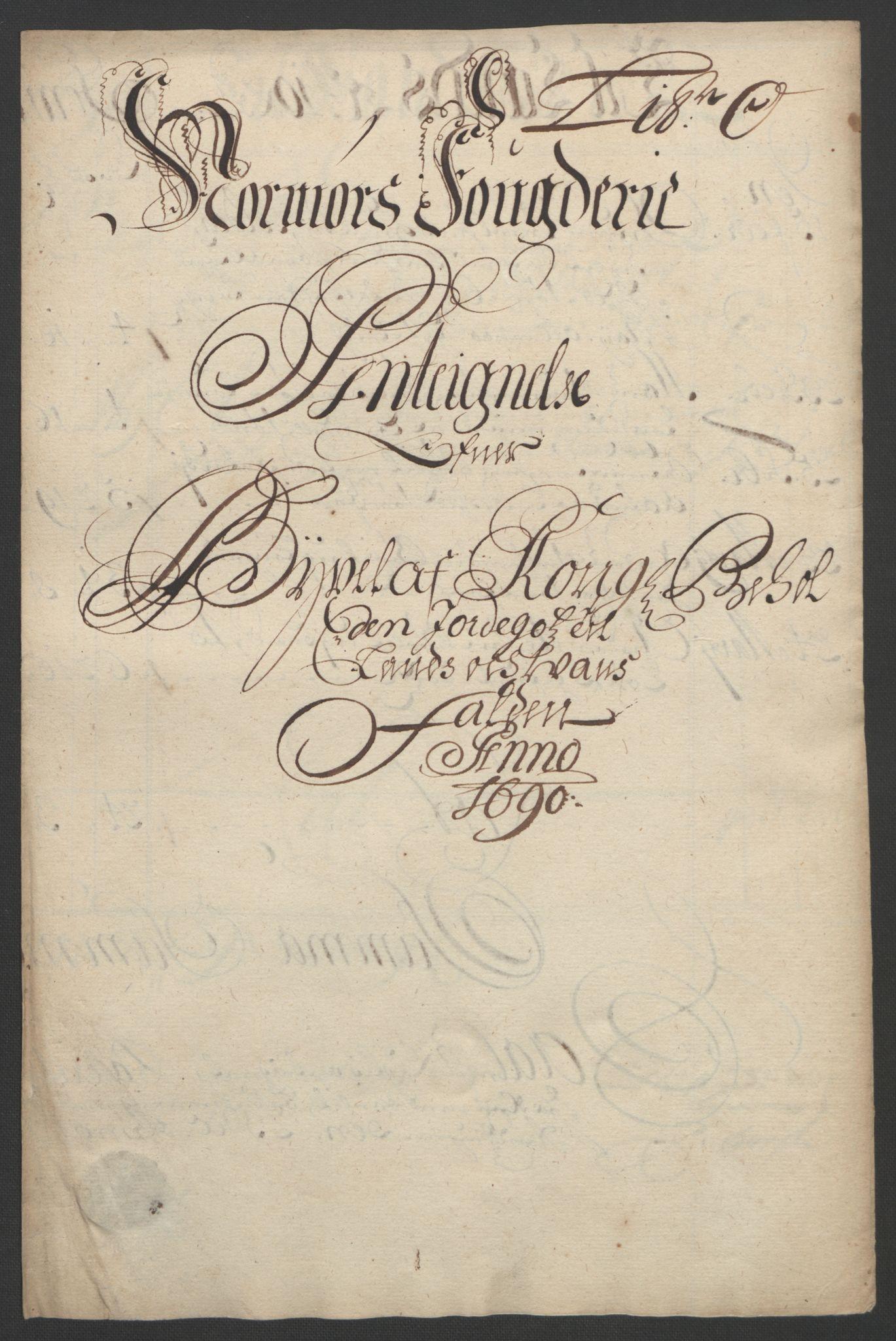 RA, Rentekammeret inntil 1814, Reviderte regnskaper, Fogderegnskap, R56/L3734: Fogderegnskap Nordmøre, 1690-1691, s. 196