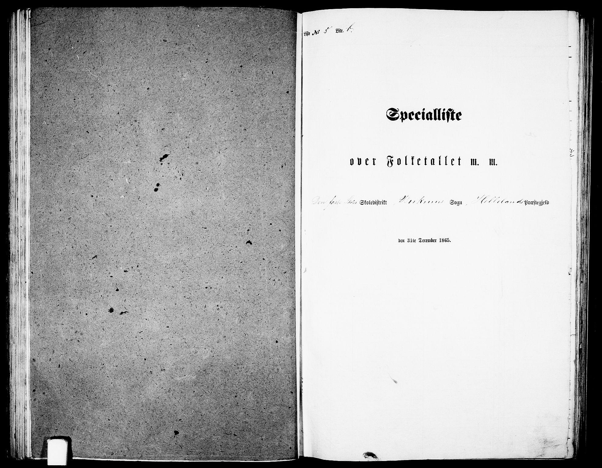 RA, Folketelling 1865 for 1115P Helleland prestegjeld, 1865, s. 76