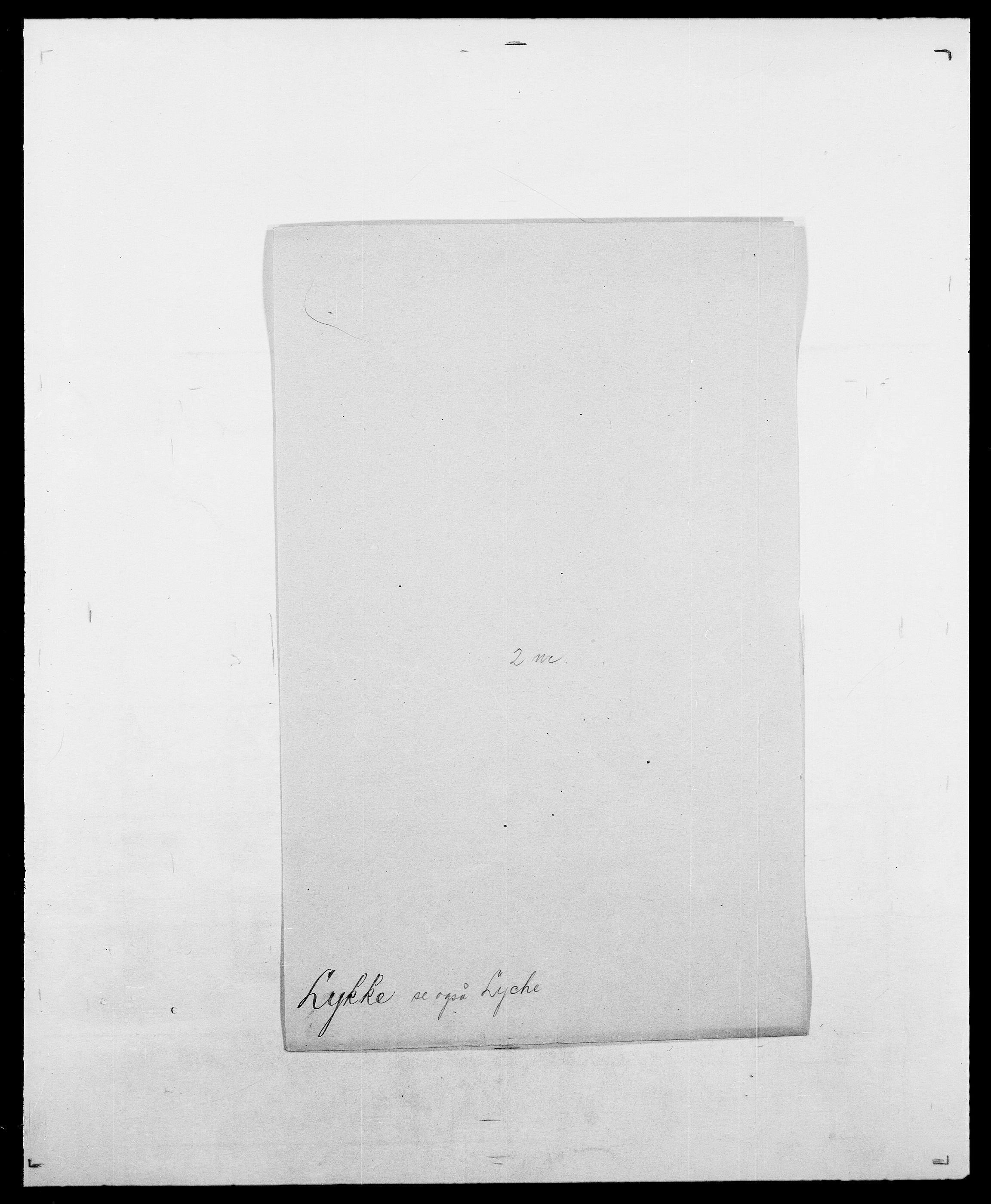 SAO, Delgobe, Charles Antoine - samling, D/Da/L0024: Lobech - Lærum, s. 712