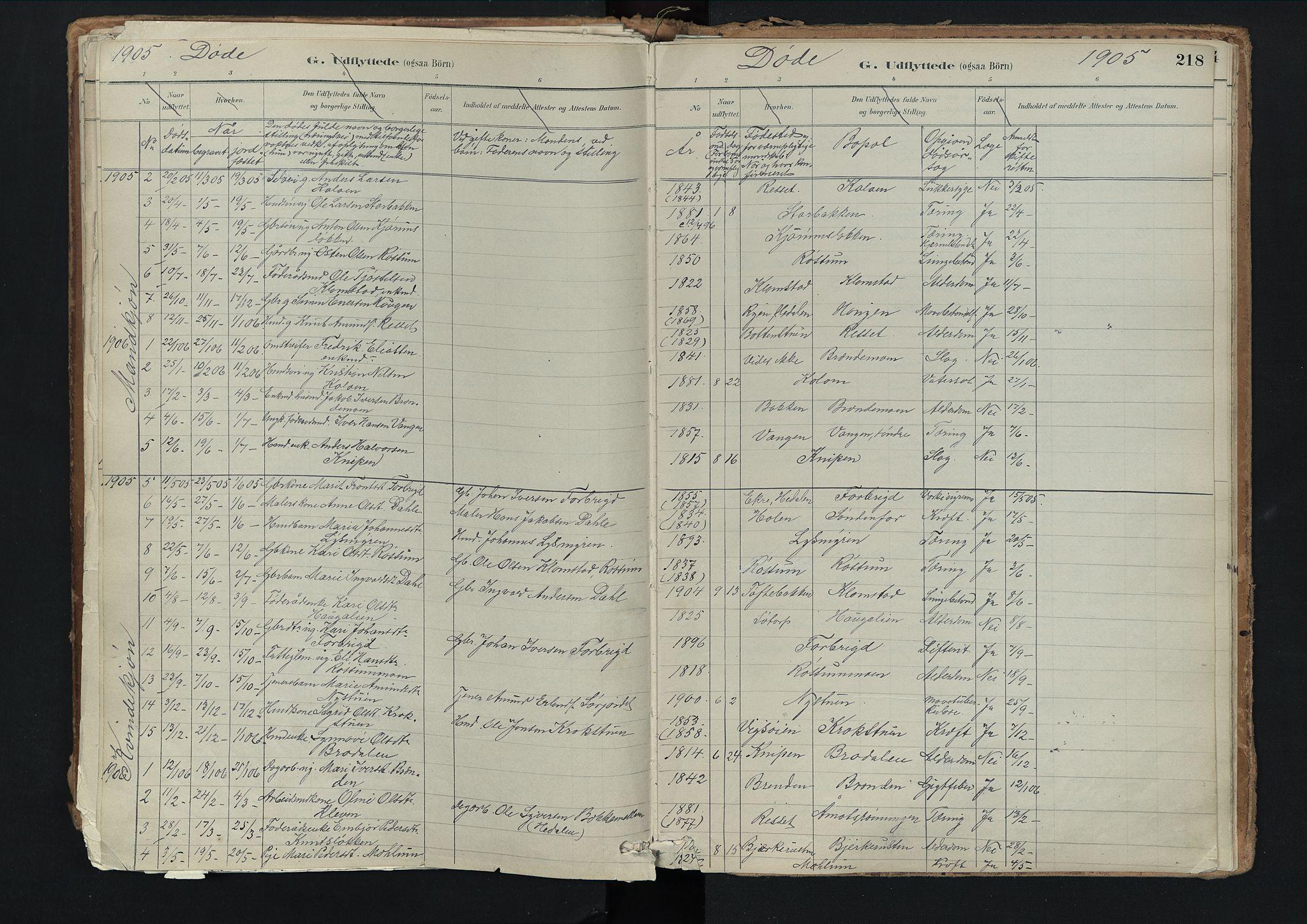 SAH, Nord-Fron prestekontor, Ministerialbok nr. 3, 1884-1914, s. 218