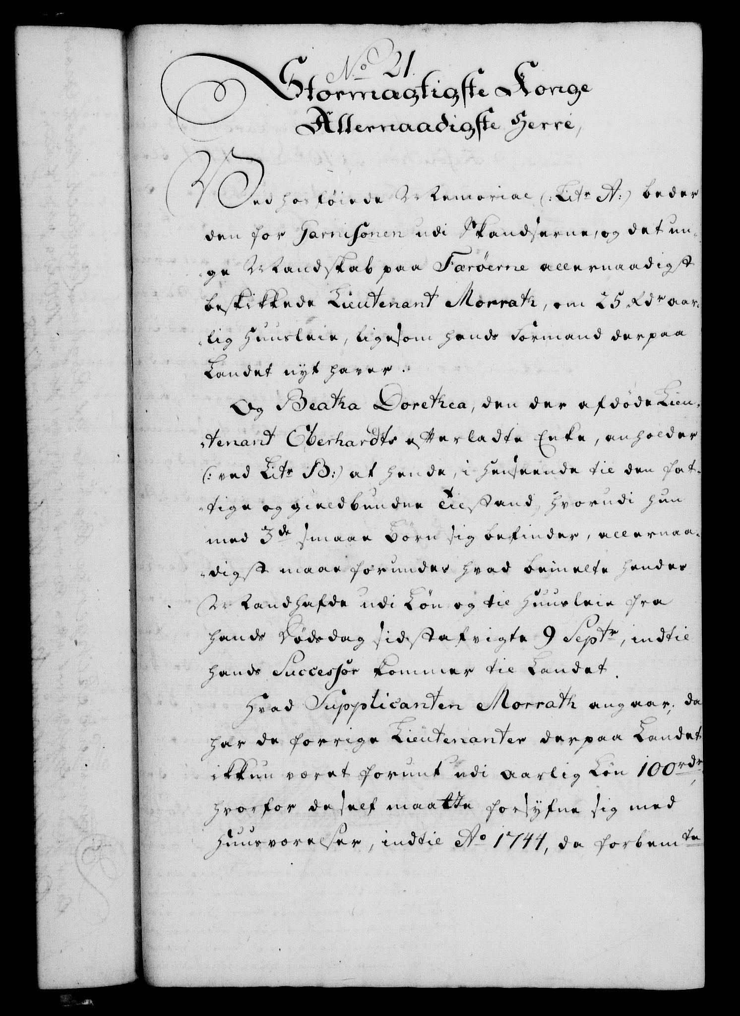 RA, Rentekammeret, Kammerkanselliet, G/Gf/Gfa/L0040: Norsk relasjons- og resolusjonsprotokoll (merket RK 52.40), 1758, s. 114