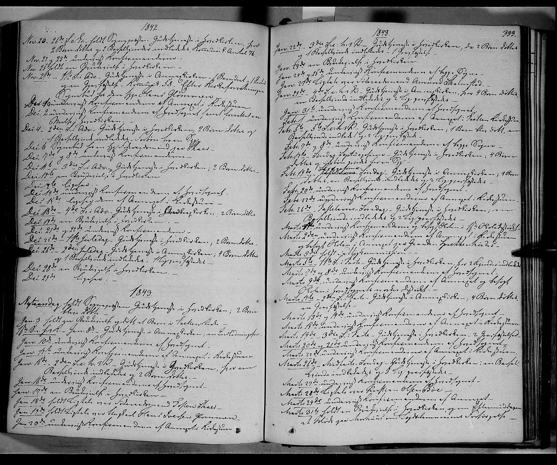 SAH, Øyer prestekontor, Ministerialbok nr. 5, 1842-1857, s. 333