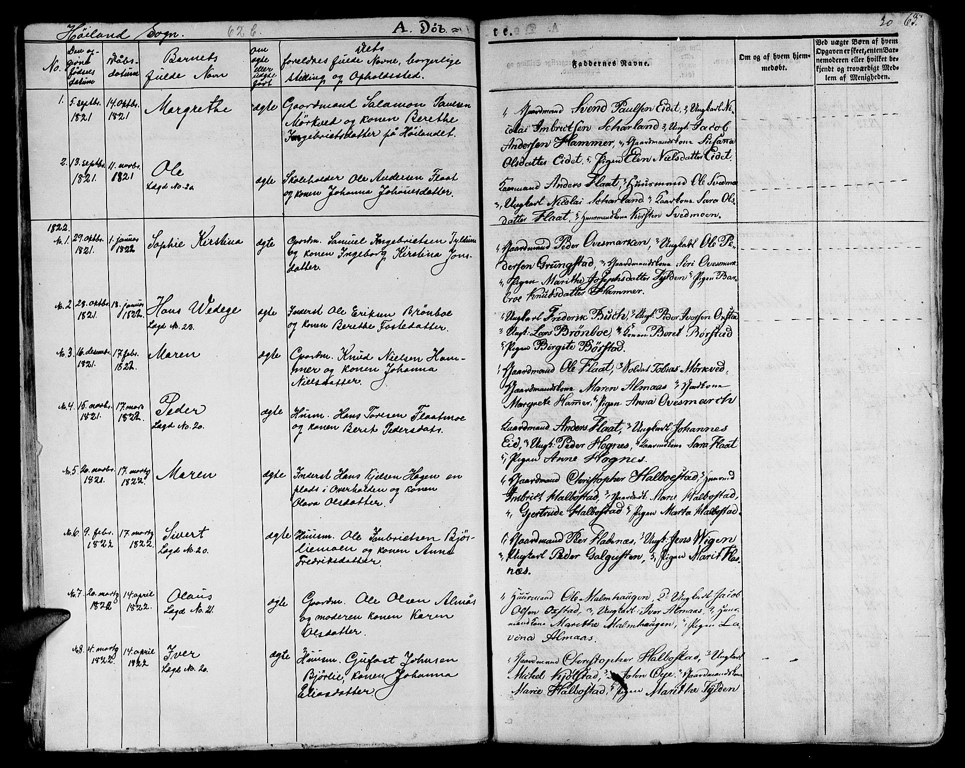 SAT, Ministerialprotokoller, klokkerbøker og fødselsregistre - Nord-Trøndelag, 758/L0510: Ministerialbok nr. 758A01 /2, 1821-1841, s. 30