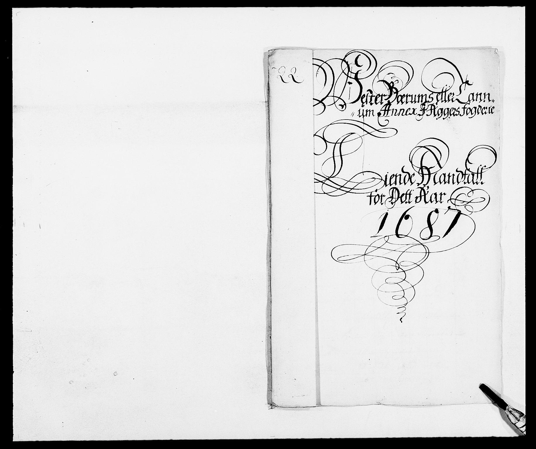 RA, Rentekammeret inntil 1814, Reviderte regnskaper, Fogderegnskap, R08/L0422: Fogderegnskap Aker, 1684-1686, s. 148