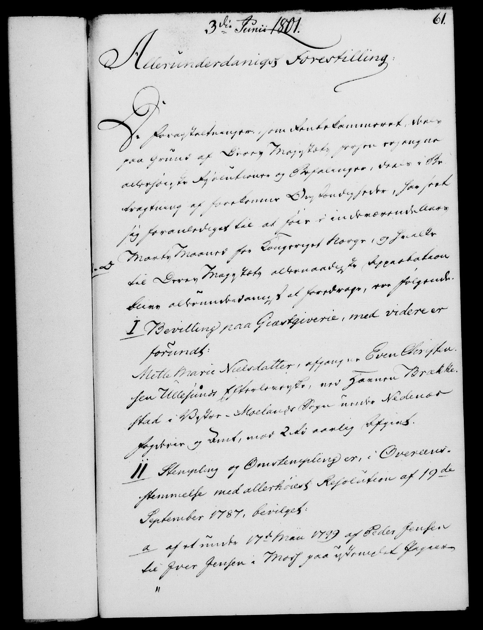 RA, Rentekammeret, Kammerkanselliet, G/Gf/Gfa/L0083: Norsk relasjons- og resolusjonsprotokoll (merket RK 52.83), 1801, s. 373
