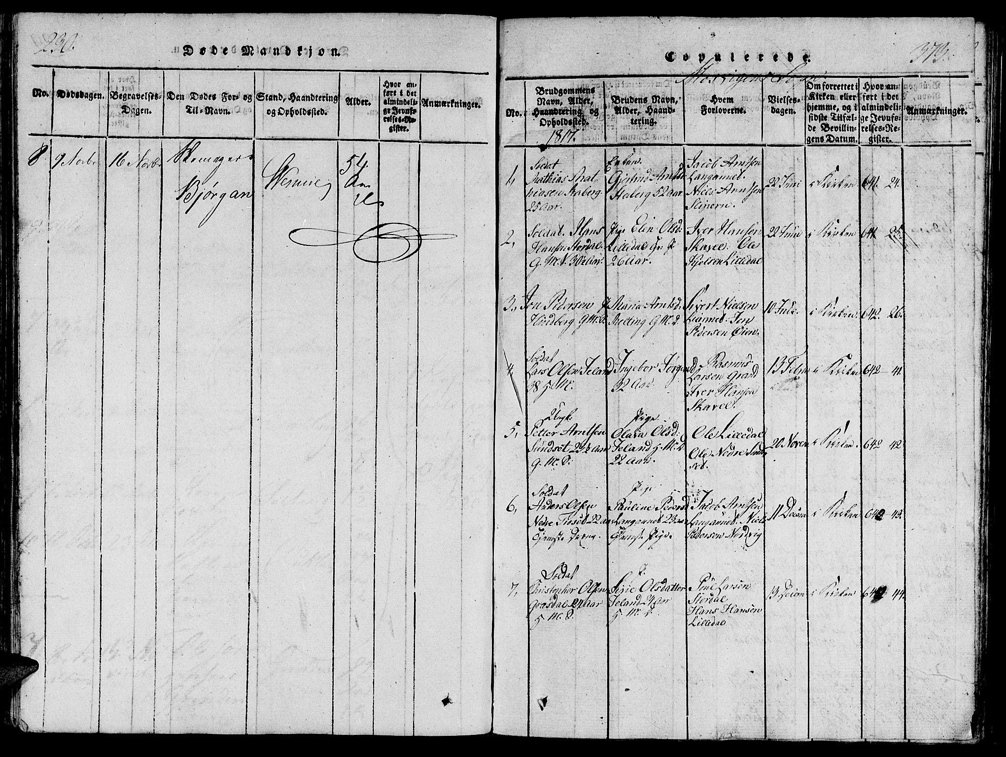 SAT, Ministerialprotokoller, klokkerbøker og fødselsregistre - Nord-Trøndelag, 733/L0322: Ministerialbok nr. 733A01, 1817-1842, s. 230-373