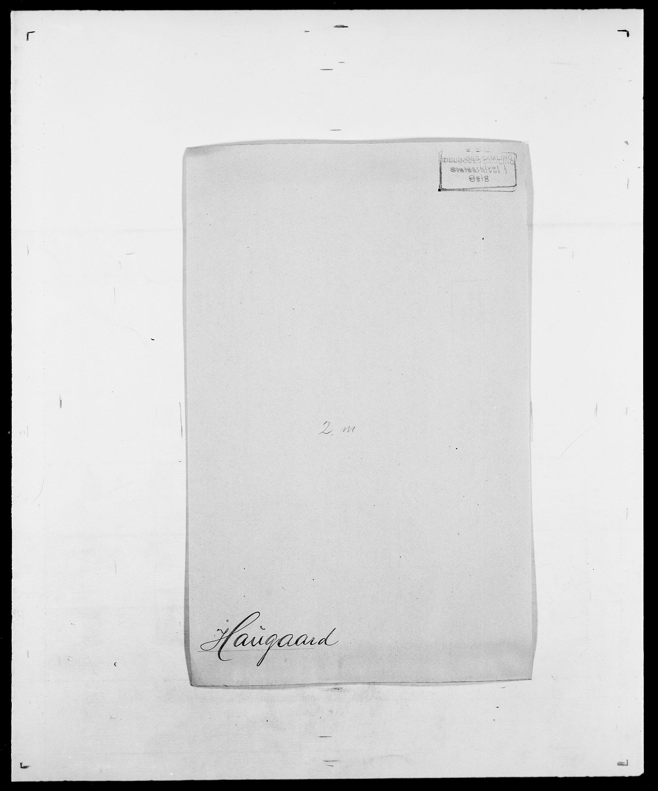 SAO, Delgobe, Charles Antoine - samling, D/Da/L0016: Hamborg - Hektoen, s. 589