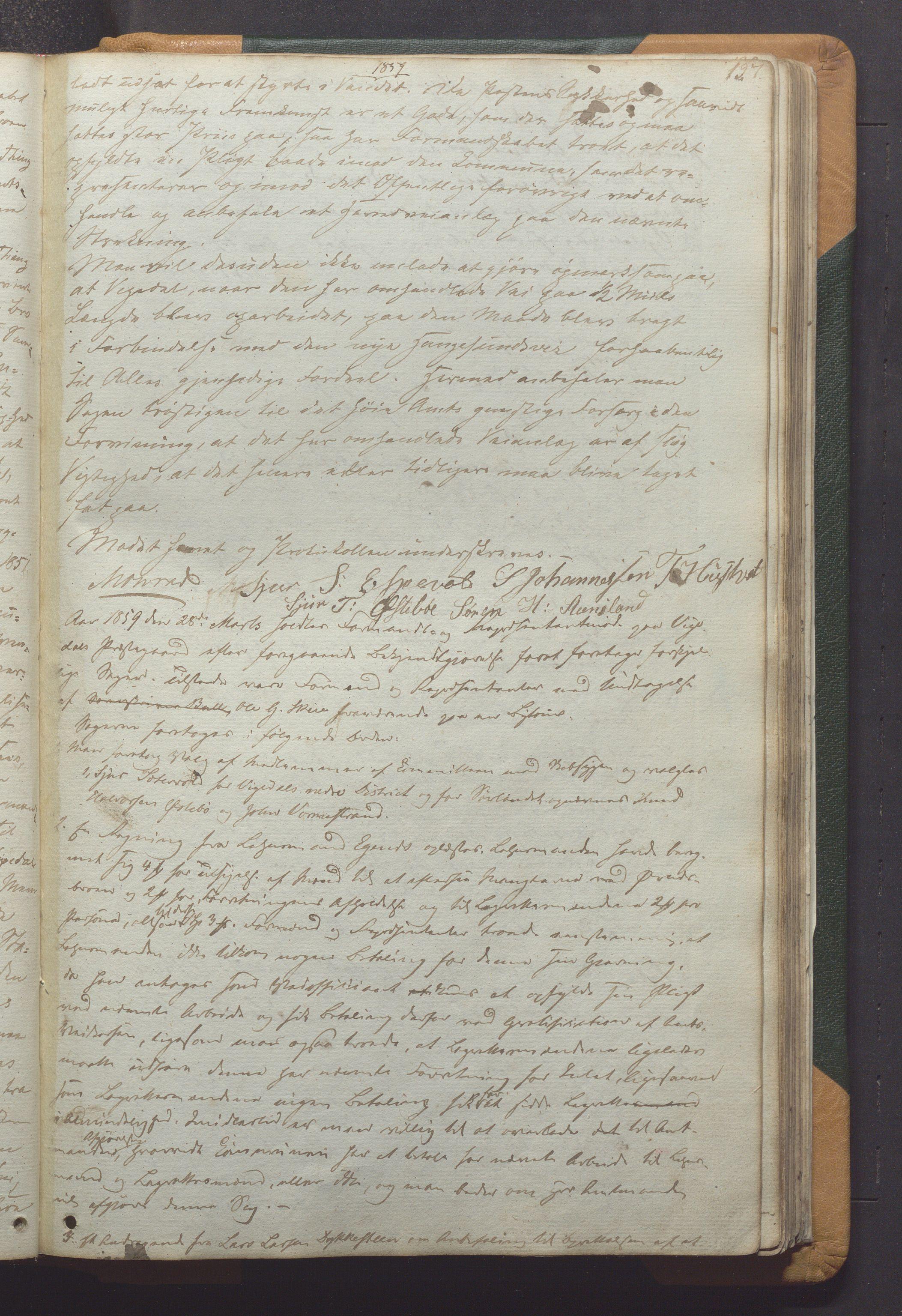 IKAR, Vikedal kommune - Formannskapet, Aaa/L0001: Møtebok, 1837-1874, s. 127a