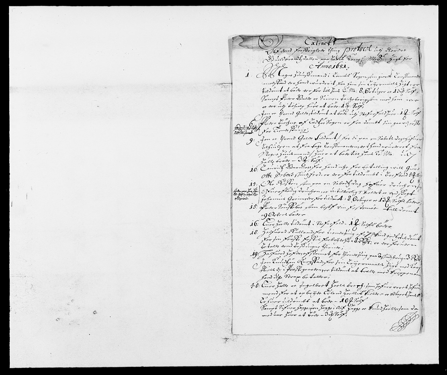 RA, Rentekammeret inntil 1814, Reviderte regnskaper, Fogderegnskap, R17/L1156: Fogderegnskap Gudbrandsdal, 1681, s. 152