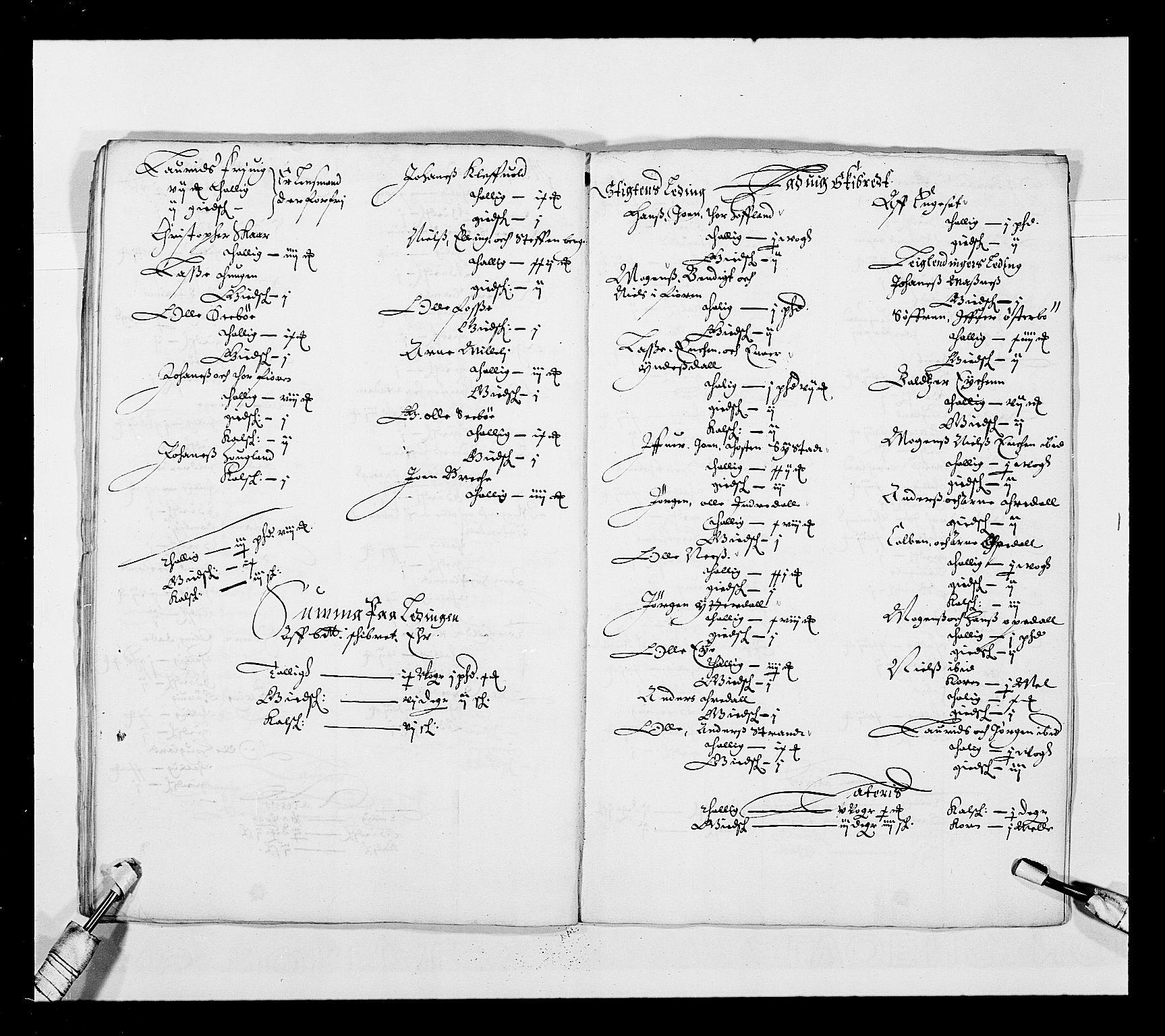 RA, Stattholderembetet 1572-1771, Ek/L0025: Jordebøker 1633-1658:, 1645-1646, s. 134