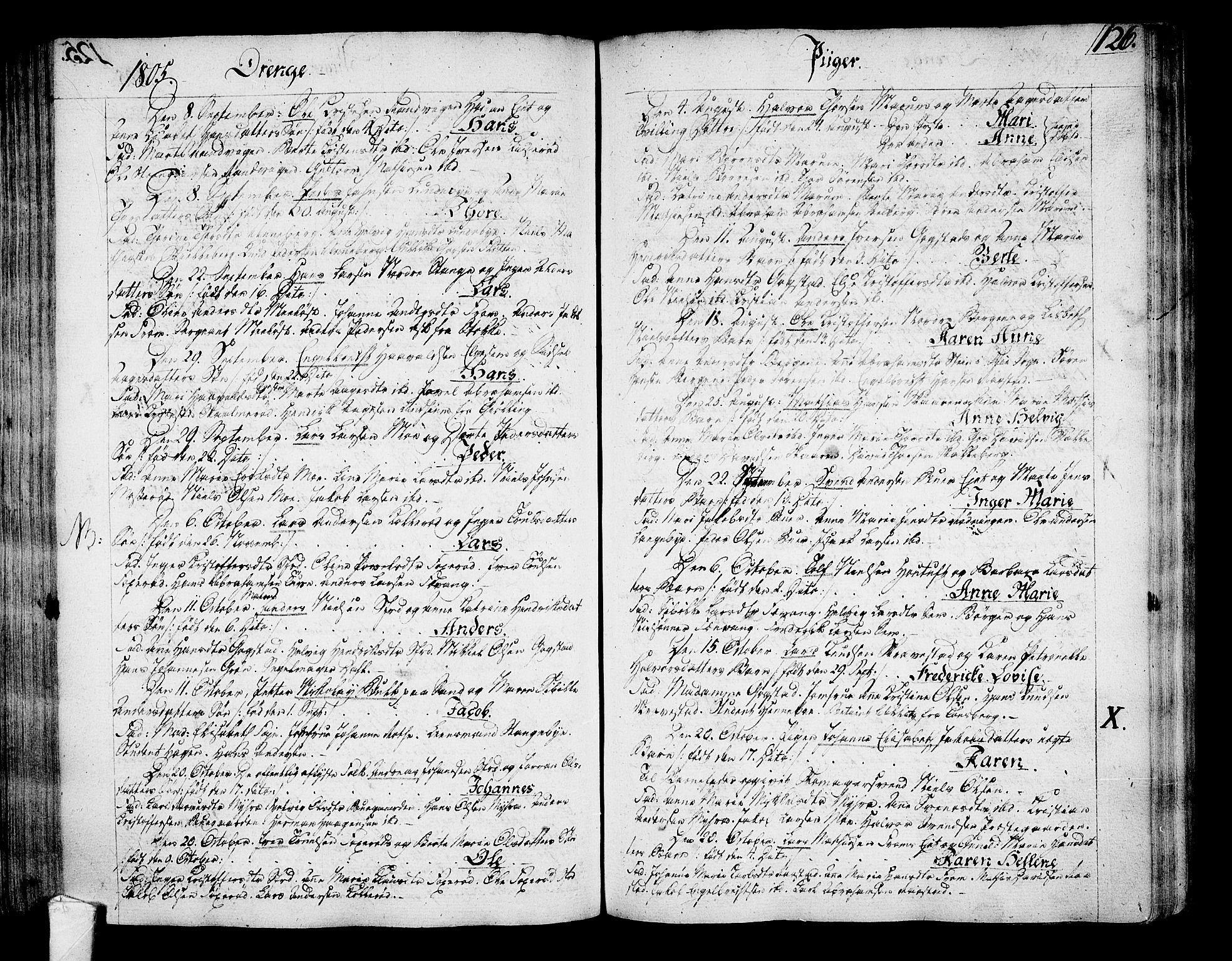 SAKO, Sandar kirkebøker, F/Fa/L0003: Ministerialbok nr. 3, 1789-1814, s. 126